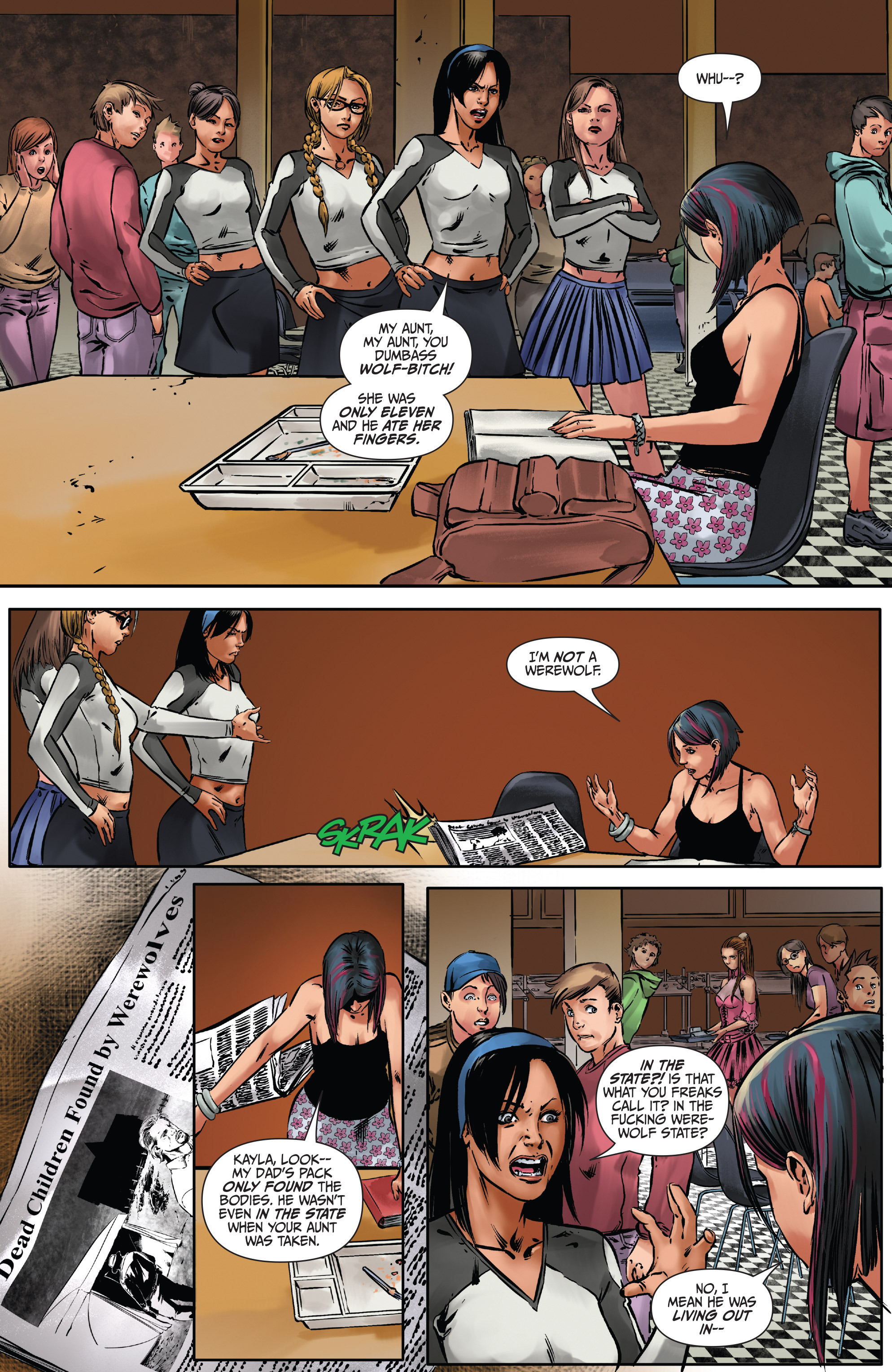 Read online Mercy Thompson comic -  Issue #2 - 6