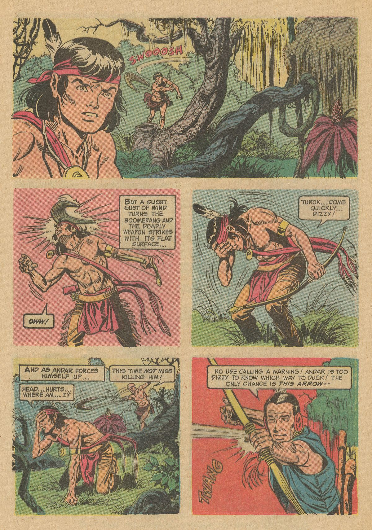 Read online Turok, Son of Stone comic -  Issue #80 - 32