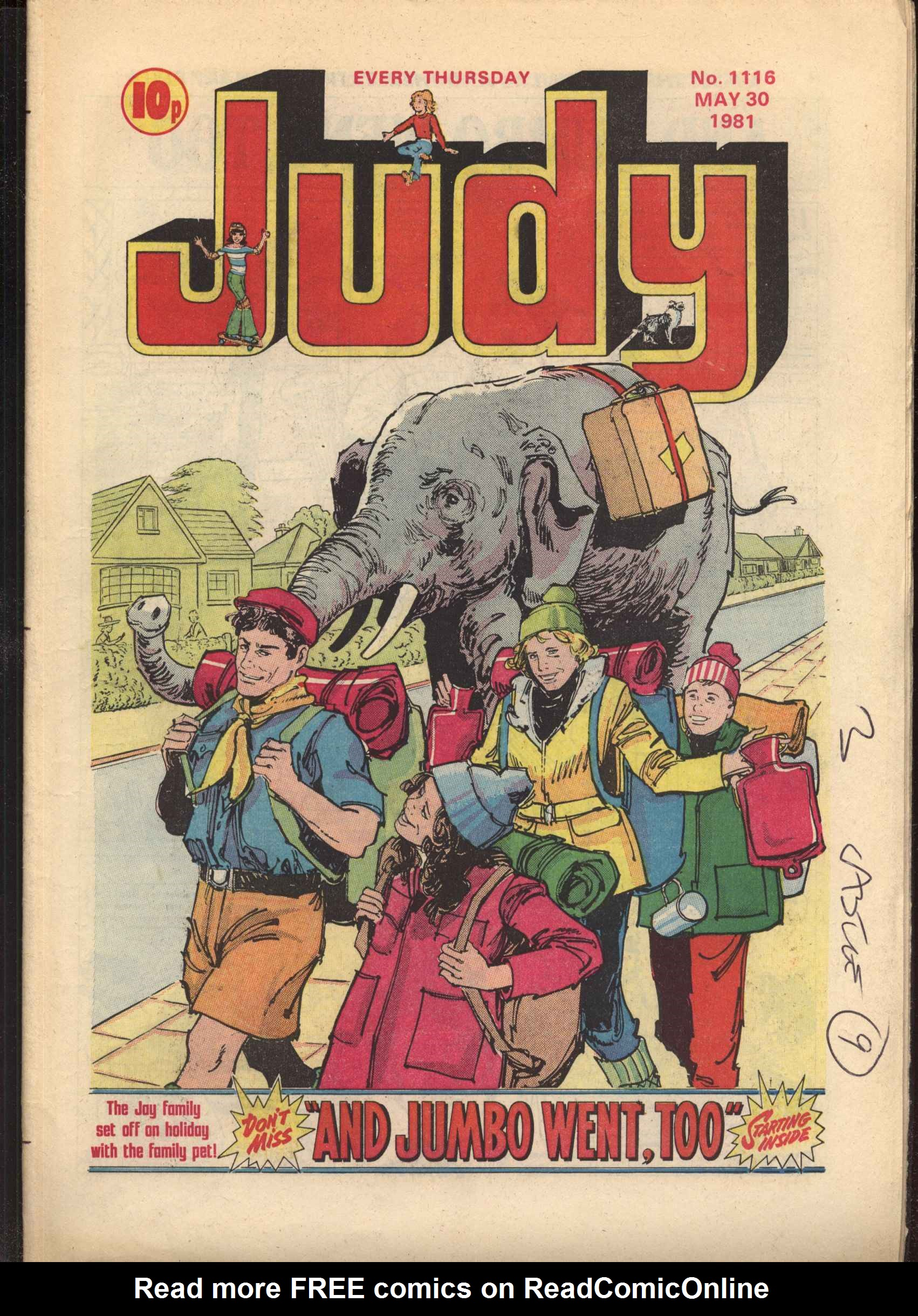 Read online Judy comic -  Issue #1116 - 1