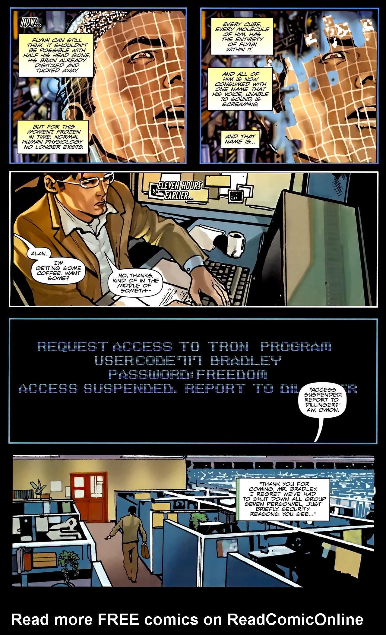Read online TRON: Original Movie Adaptation comic -  Issue #1 - 16