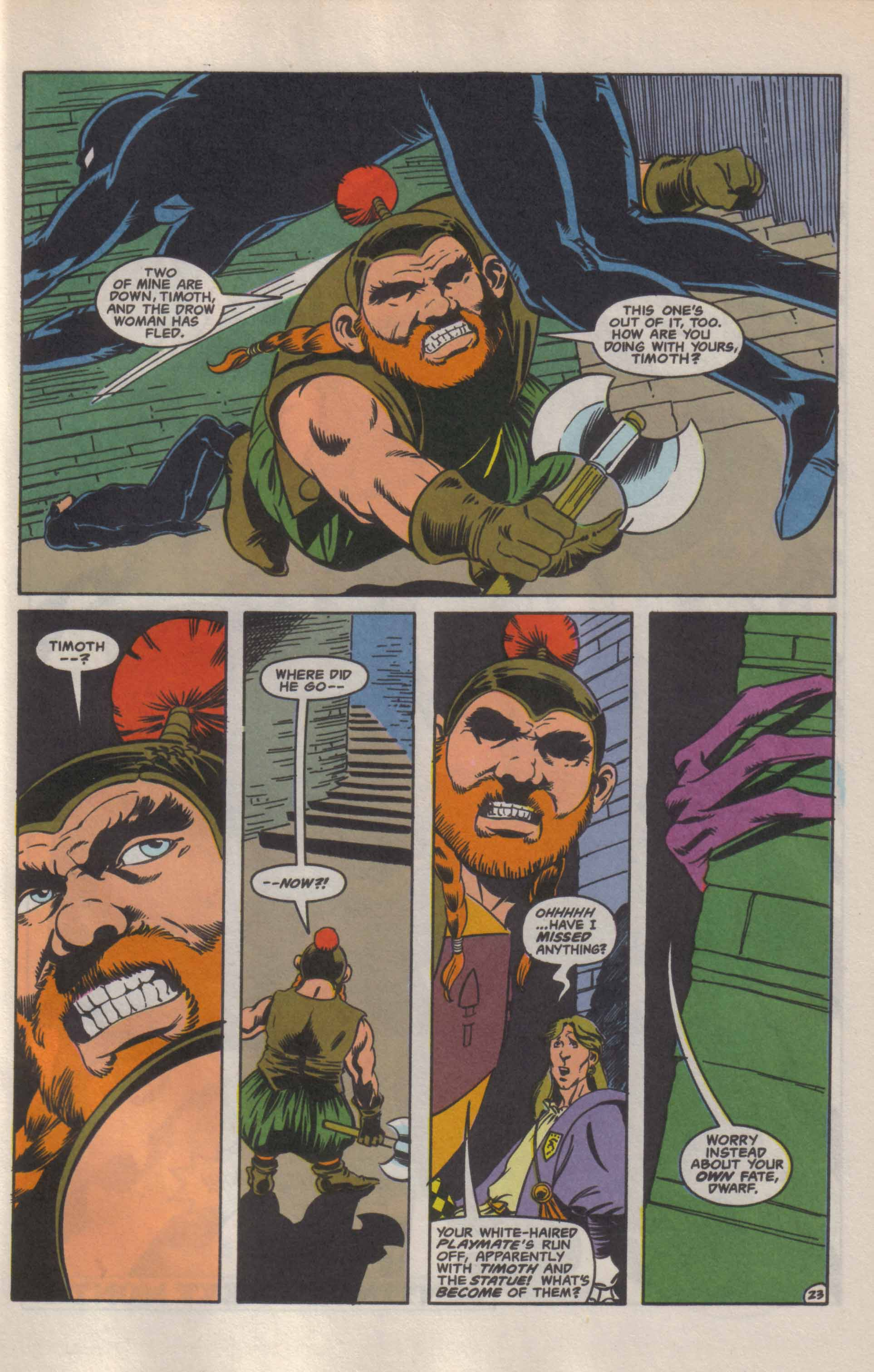 Read online Advanced Dungeons & Dragons comic -  Issue #9 - 24