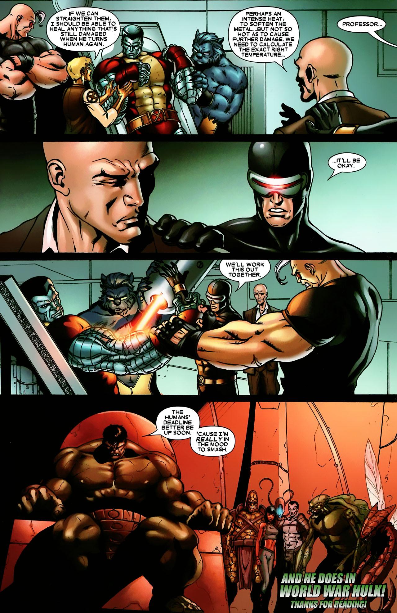 Read online World War Hulk: X-Men comic -  Issue #3 - 24