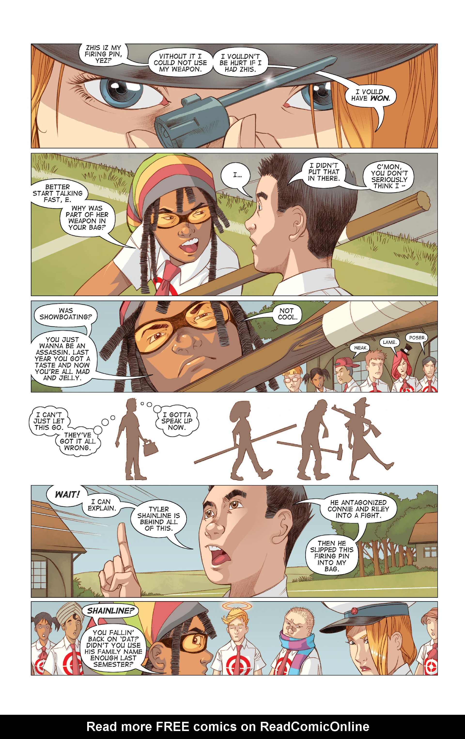 Read online Five Weapons comic -  Issue #7 - 7