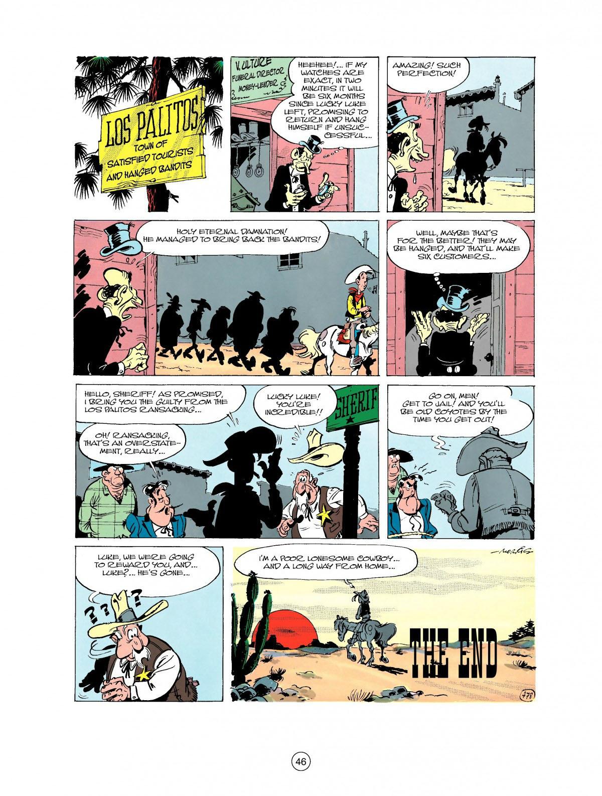 Read online A Lucky Luke Adventure comic -  Issue #27 - 47