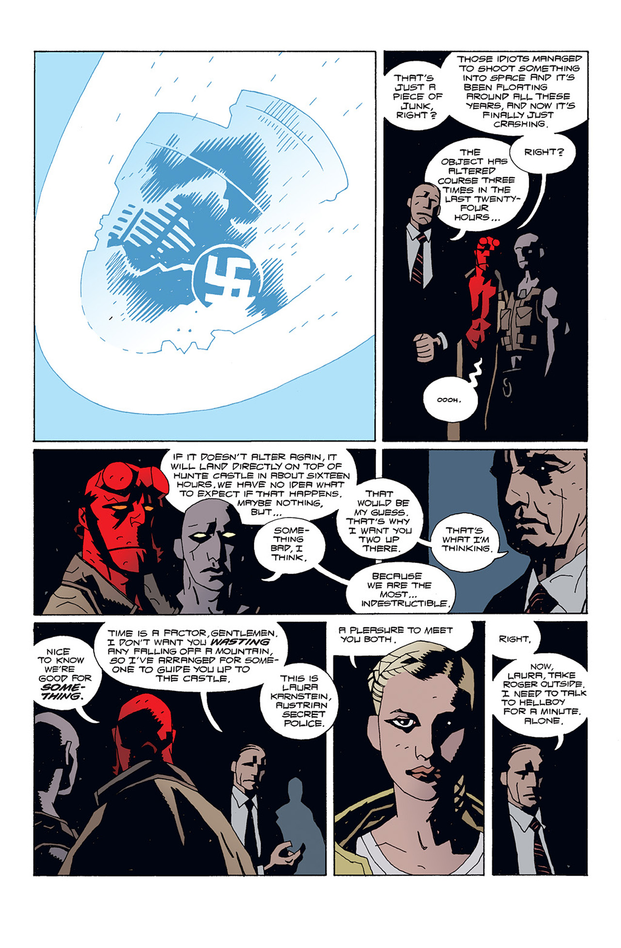 Read online Hellboy: Conqueror Worm comic -  Issue #1 - 12