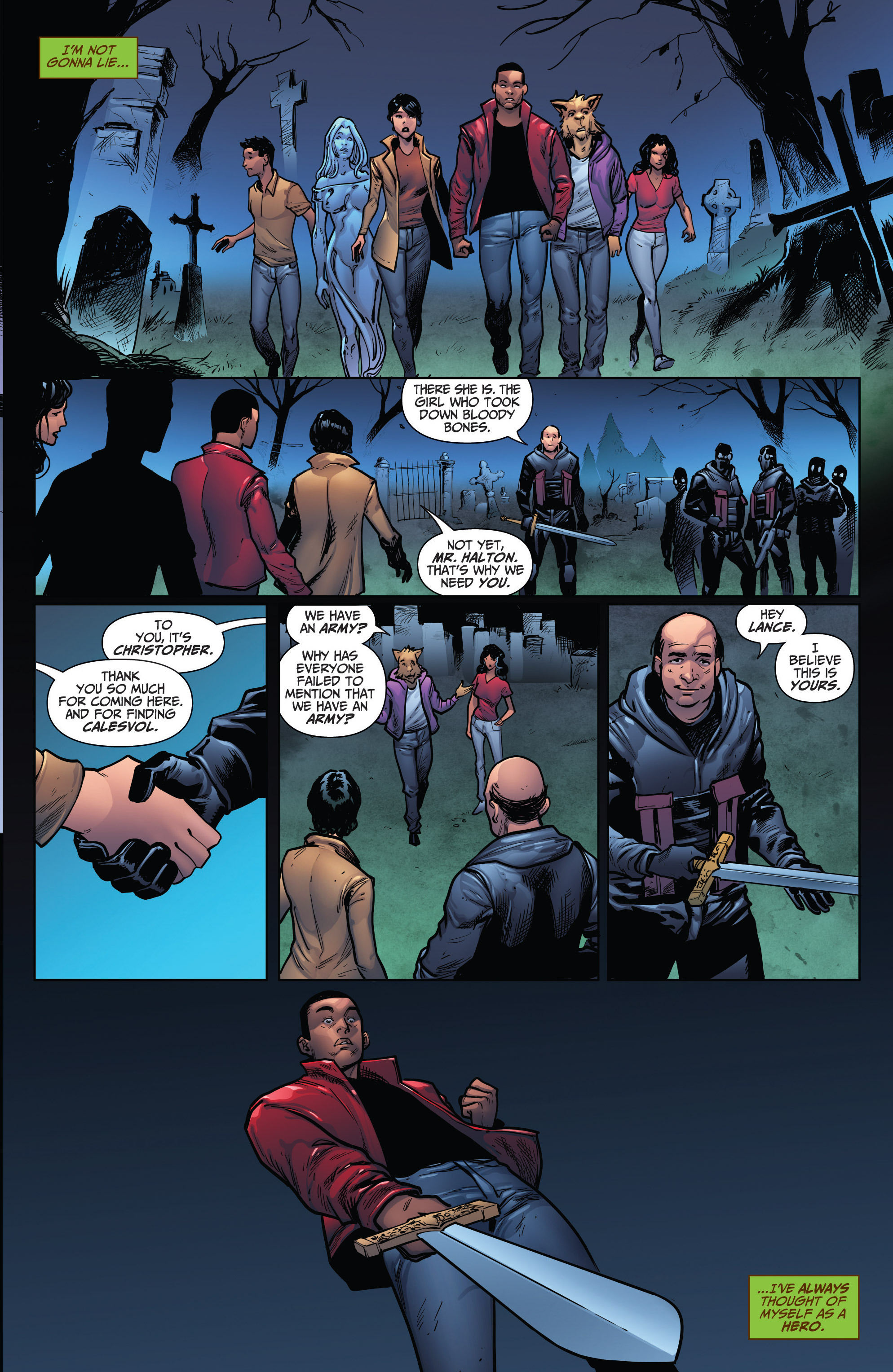 Read online Grimm Fairy Tales: Arcane Acre comic -  Issue # TPB 4 - 151