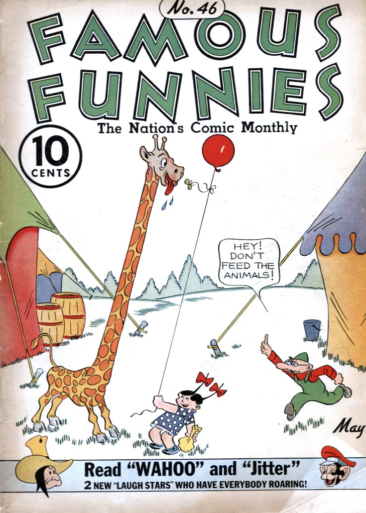 Read online Famous Funnies comic -  Issue #46 - 1