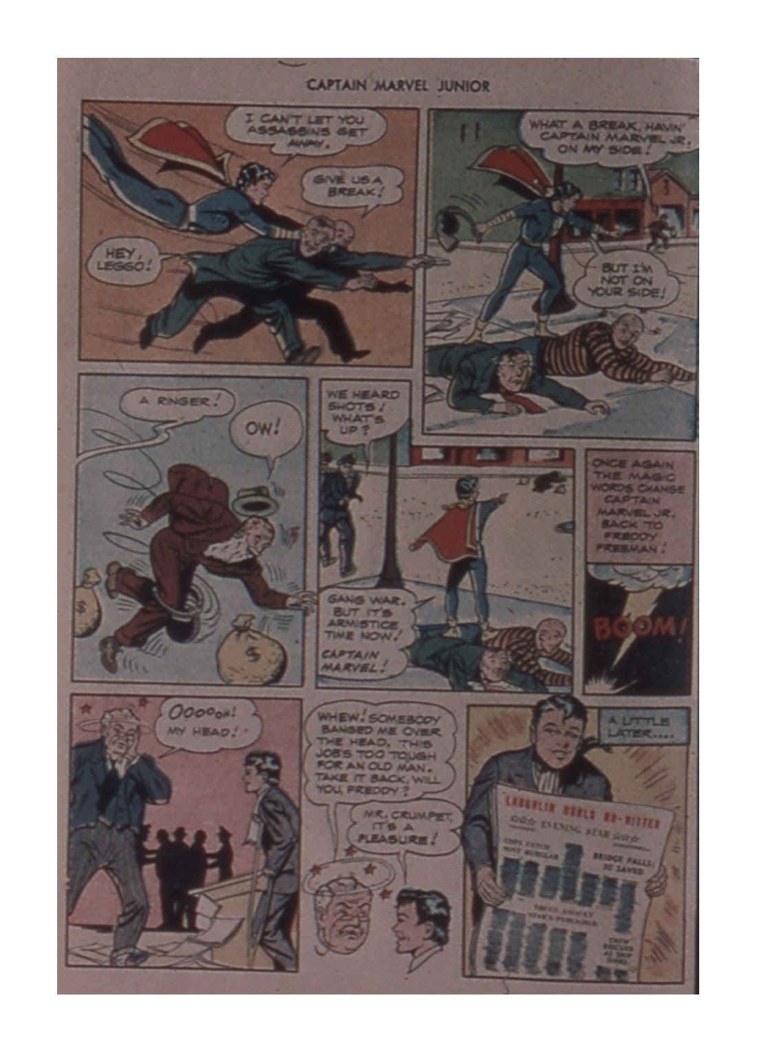 Captain Marvel, Jr. issue 59 - Page 12