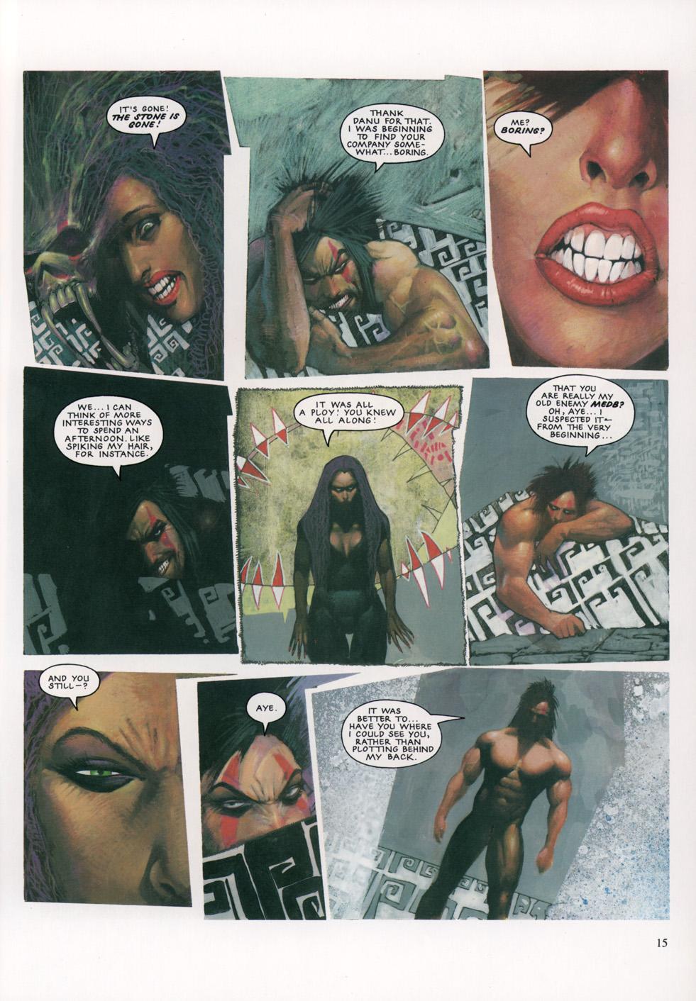Read online Slaine: The Horned God (1993) comic -  Issue #4 - 16