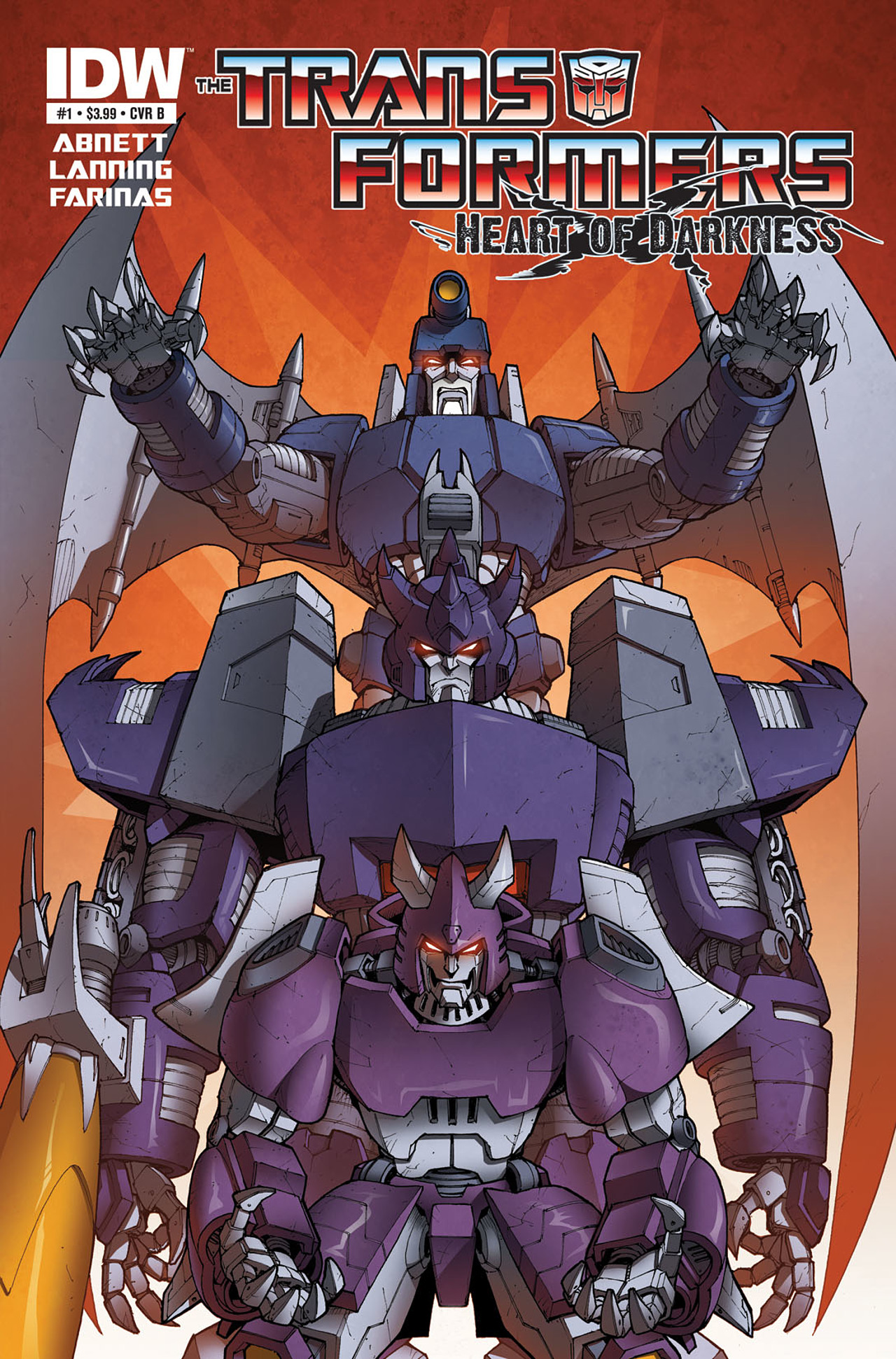 Read online Transformers: Heart of Darkness comic -  Issue #1 - 2