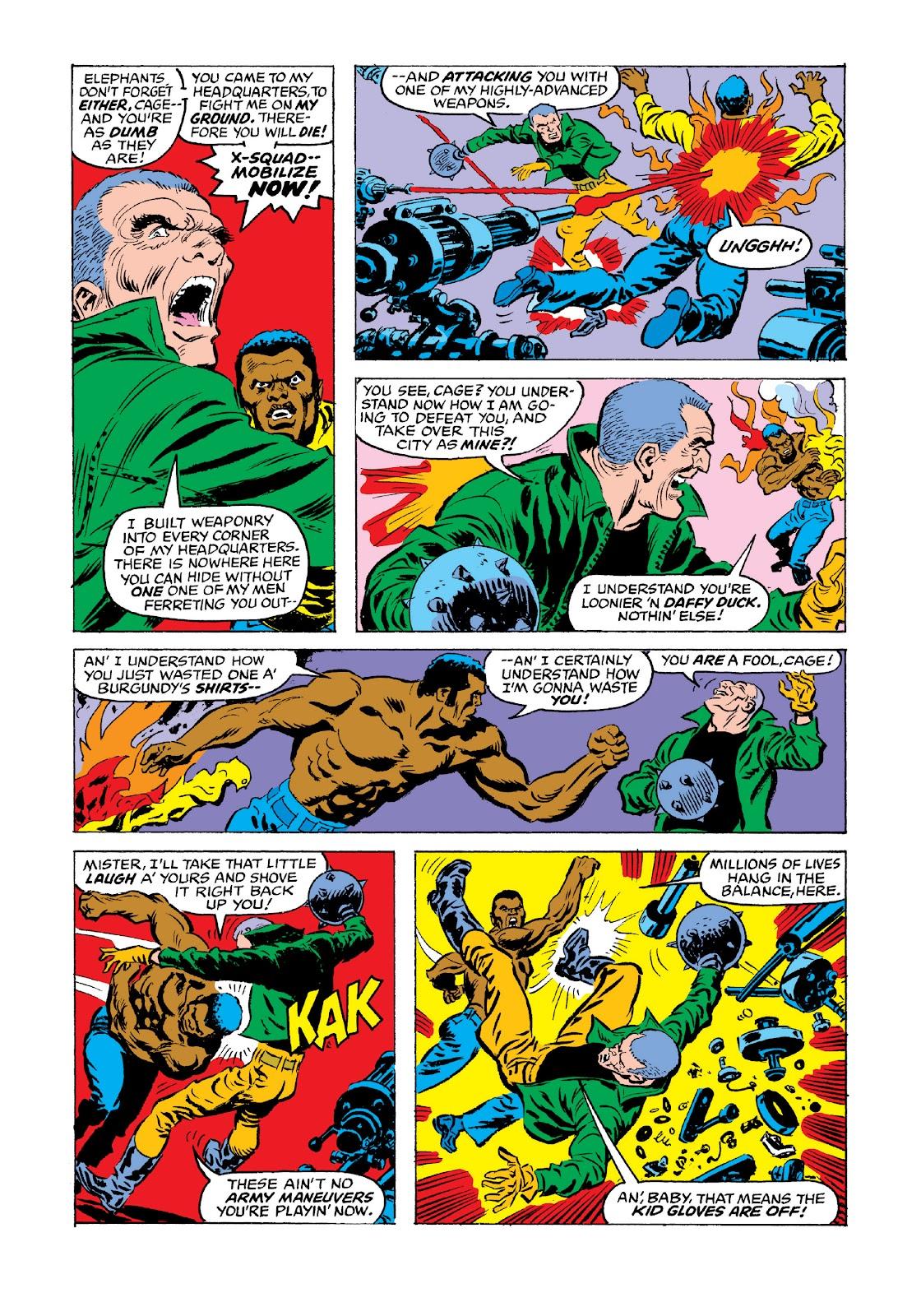 Read online Marvel Masterworks: Luke Cage, Power Man comic -  Issue # TPB 3 (Part 3) - 76