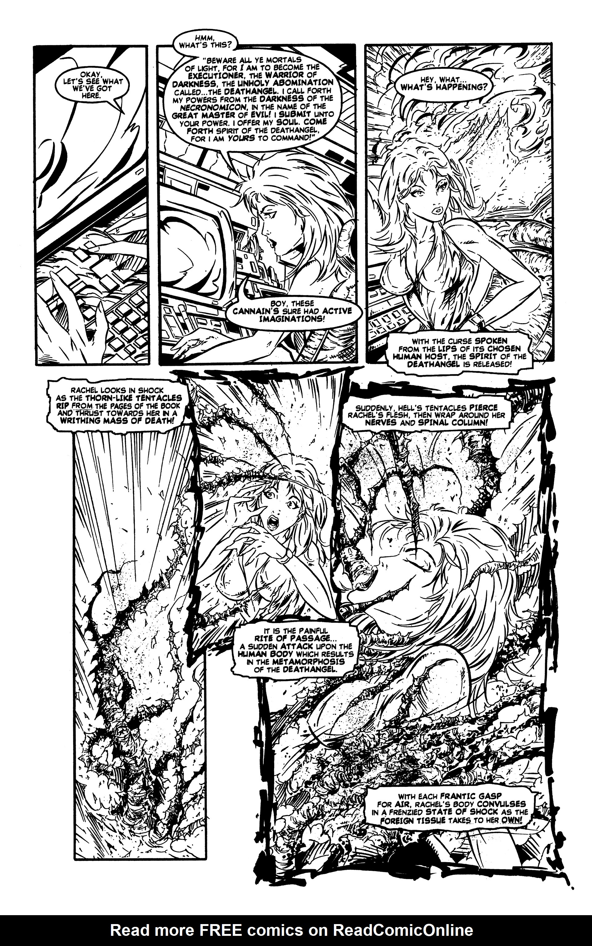 Read online DeathAngel comic -  Issue # Full - 12
