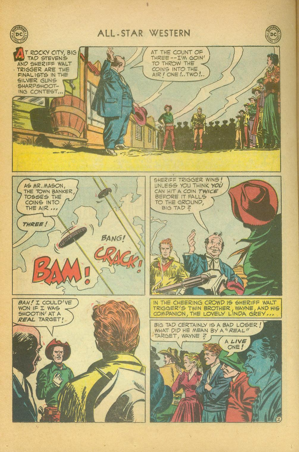 Read online All-Star Western (1951) comic -  Issue #61 - 32