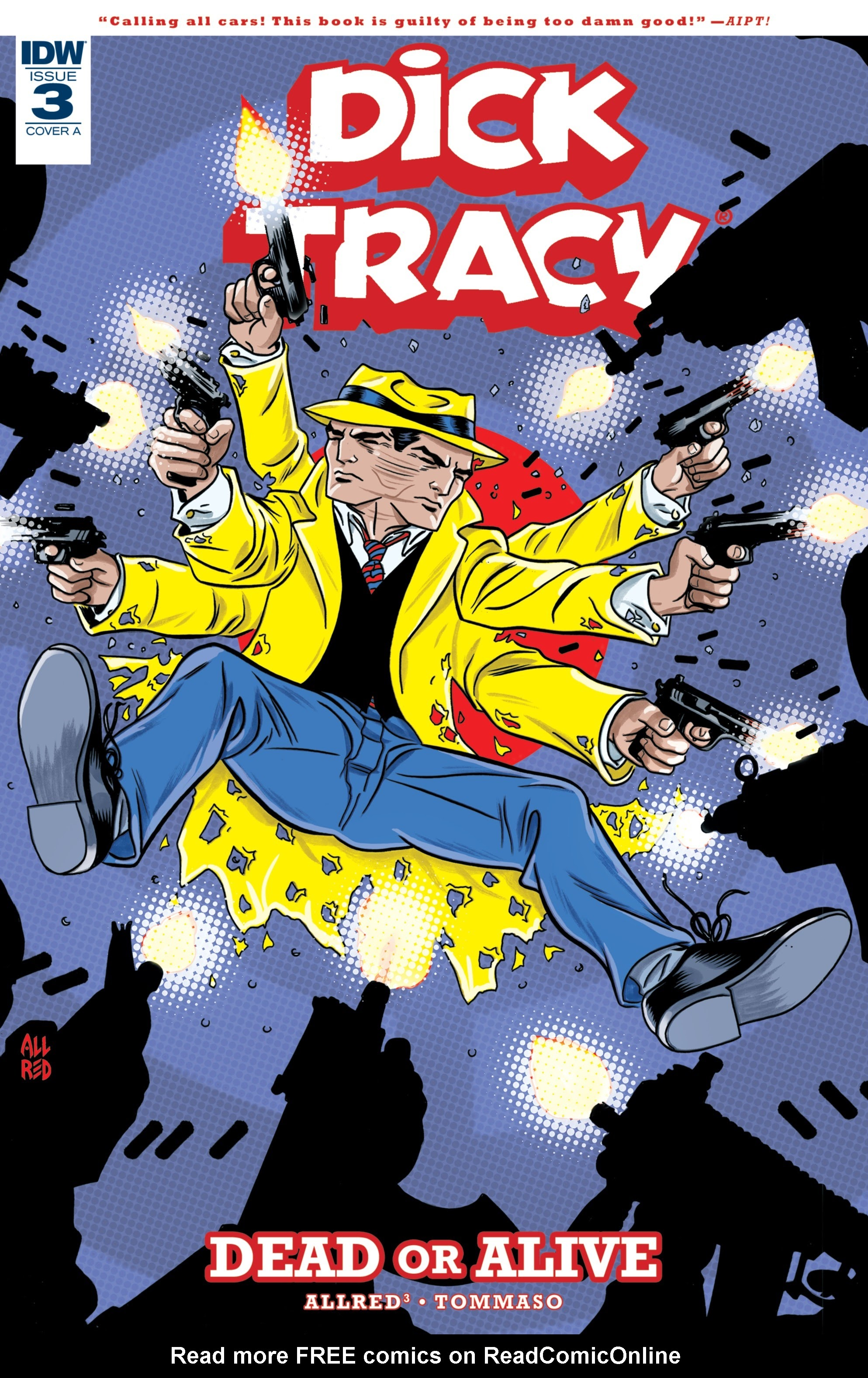Dick Tracy: Dead Or Alive 3 Page 1