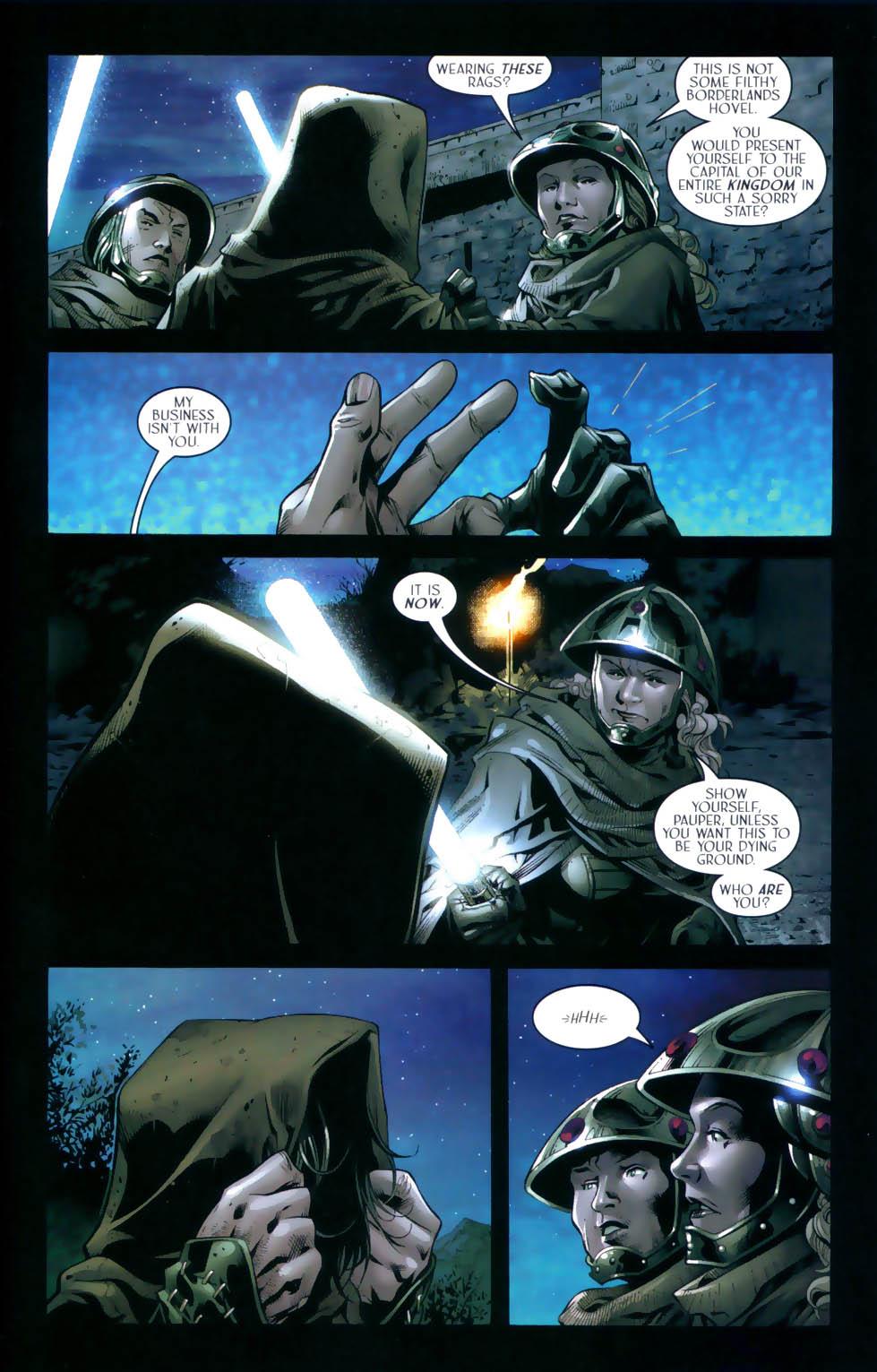 Read online Scion comic -  Issue #31 - 6