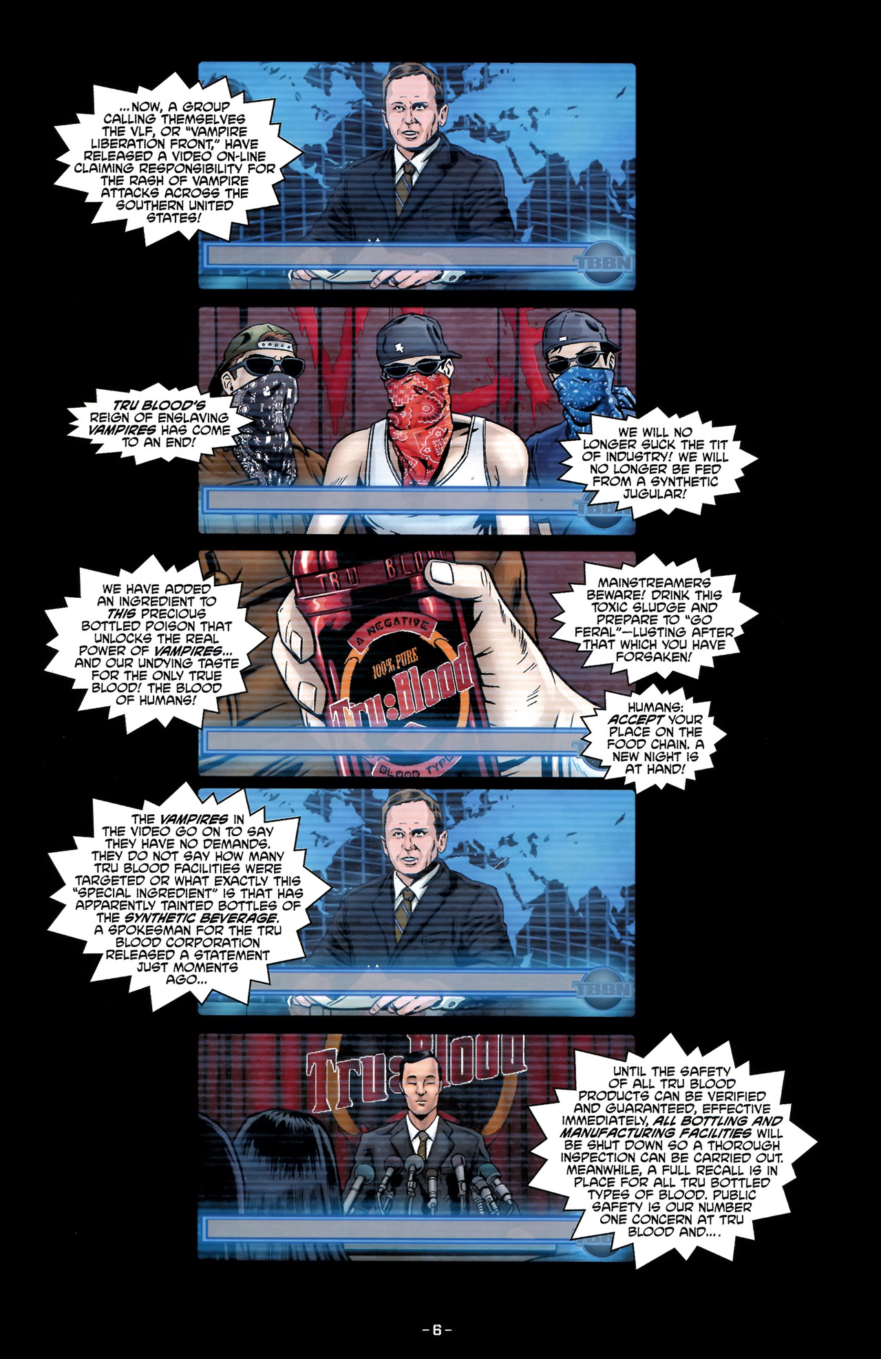 Read online True Blood: Tainted Love comic -  Issue #2 - 10