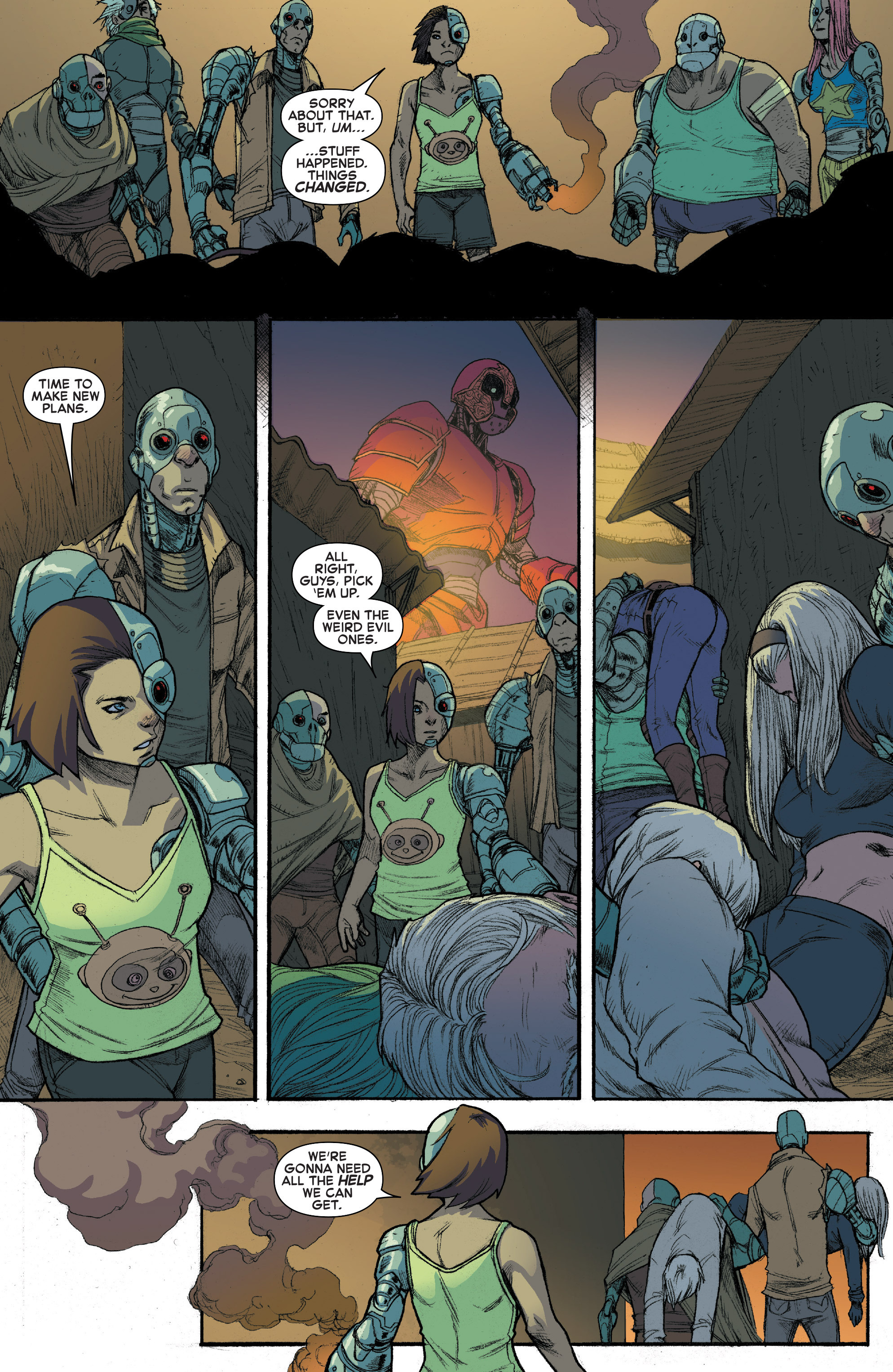 Read online House of M (2015) comic -  Issue #3 - 19