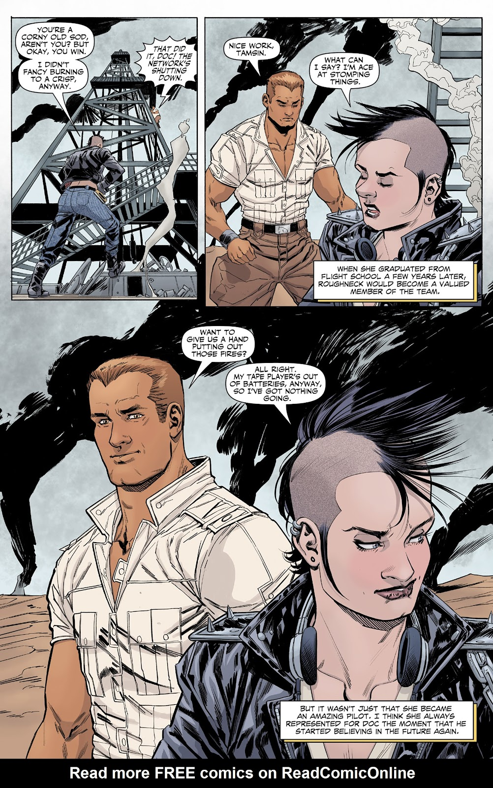 Doc Savage (2013) issue 4 - Page 24
