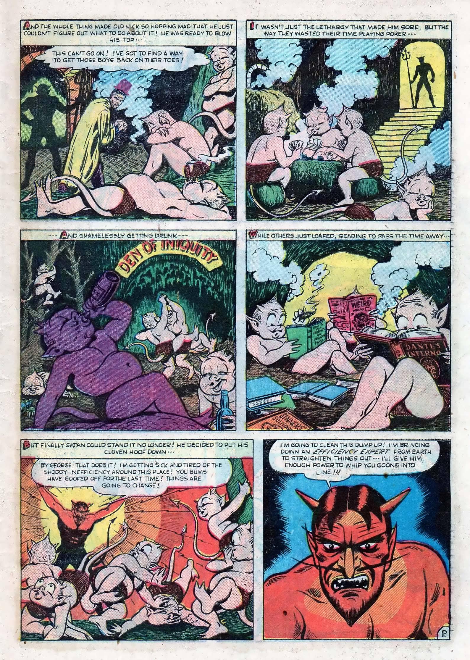 Read online Adventures into Weird Worlds comic -  Issue #10 - 28