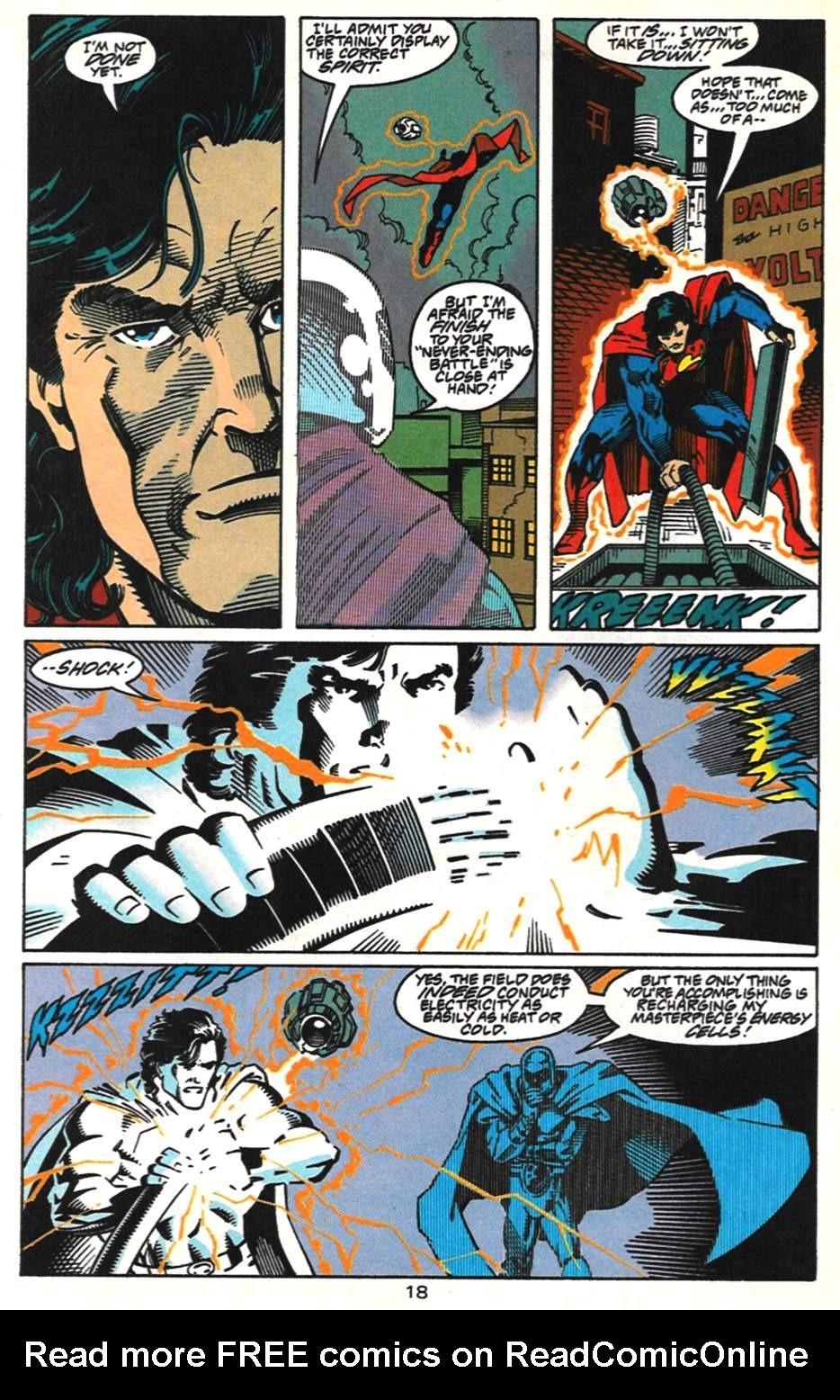 Read online Adventures of Superman (1987) comic -  Issue #517 - 19