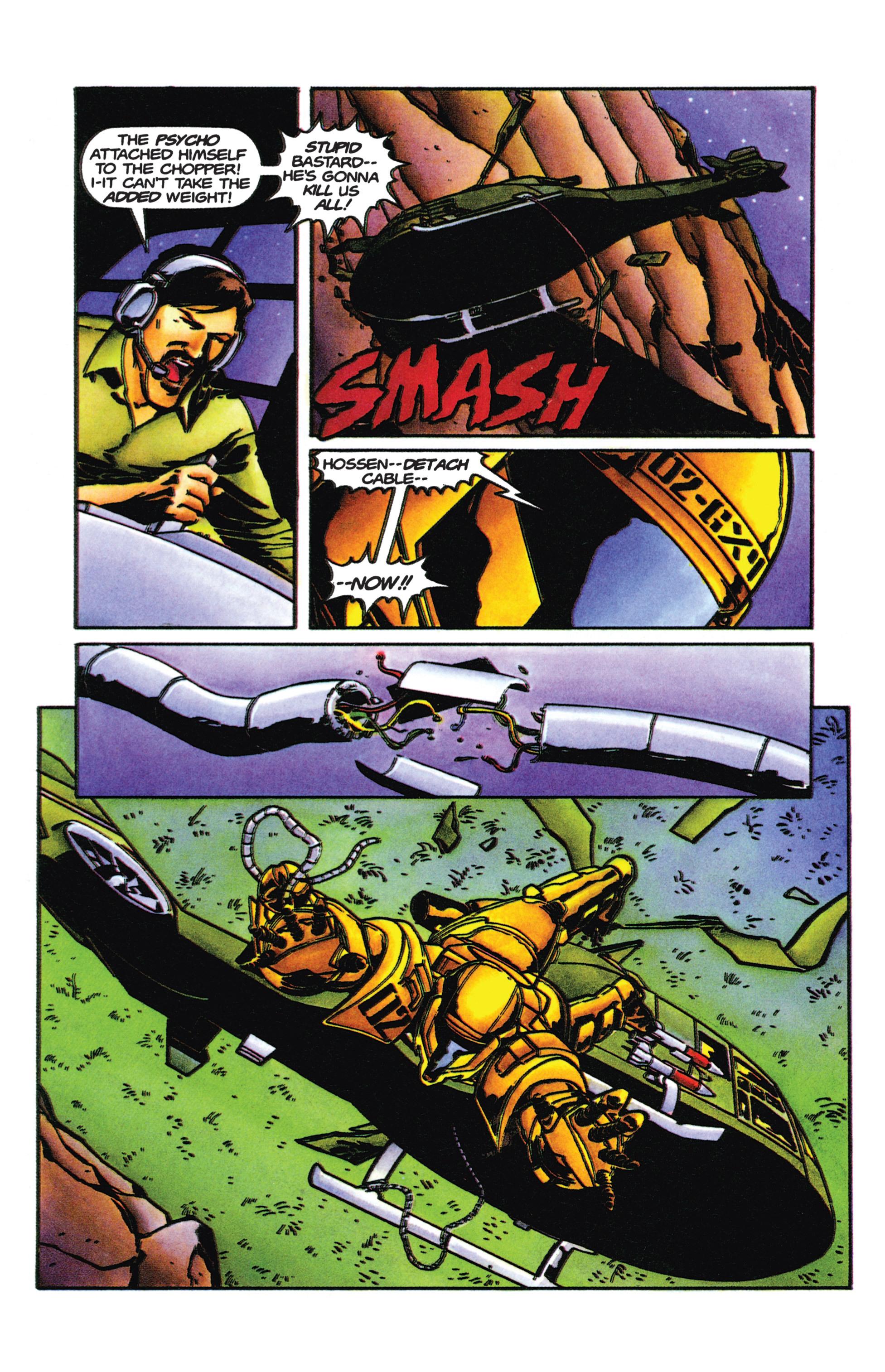 Read online Armorines comic -  Issue #9 - 20