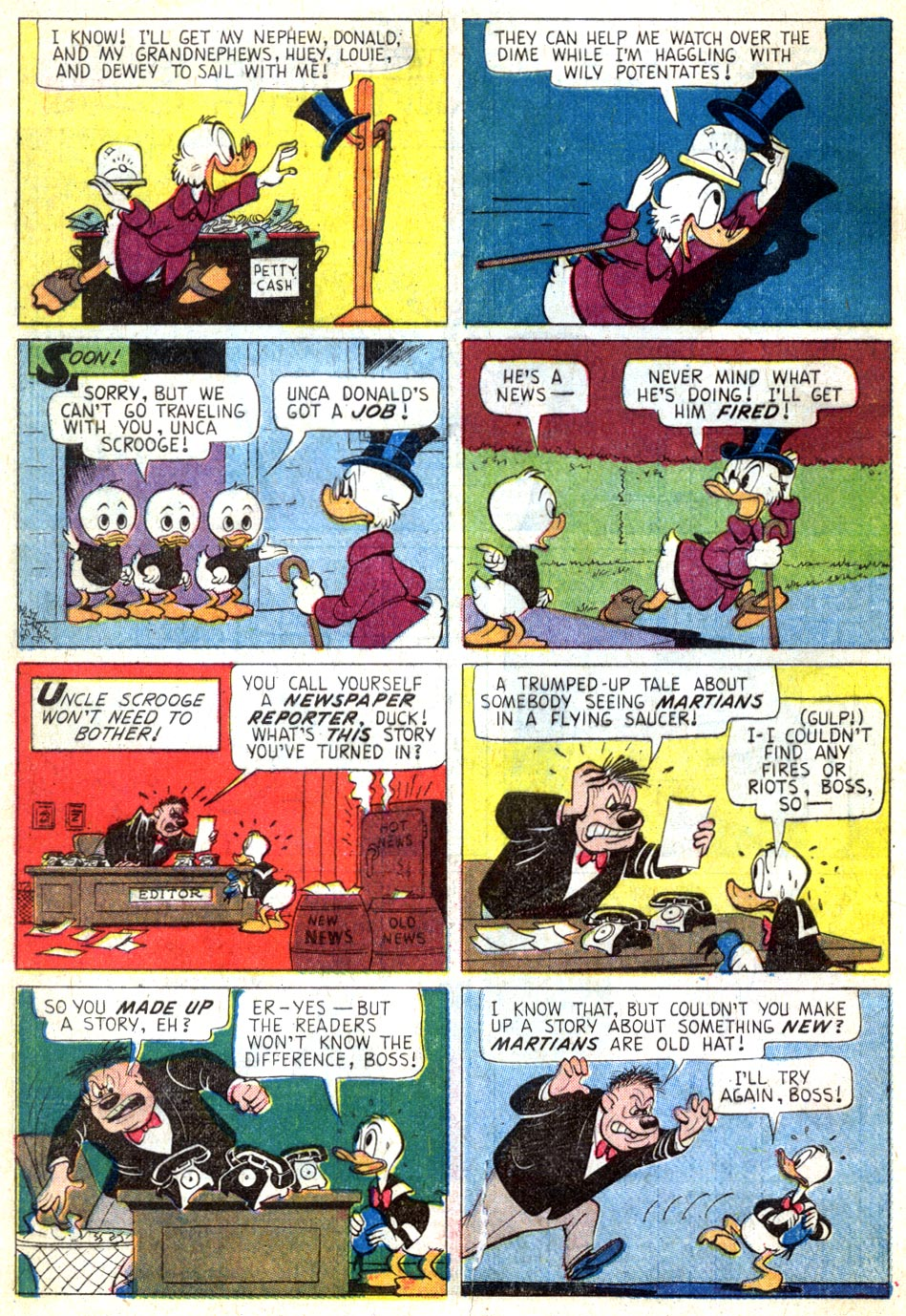 Read online Uncle Scrooge (1953) comic -  Issue #46 - 4