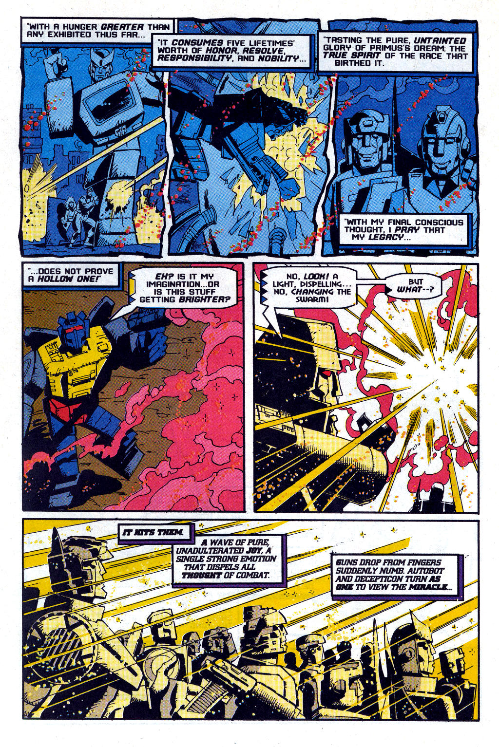 Read online Transformers: Generation 2 comic -  Issue #12 - 34