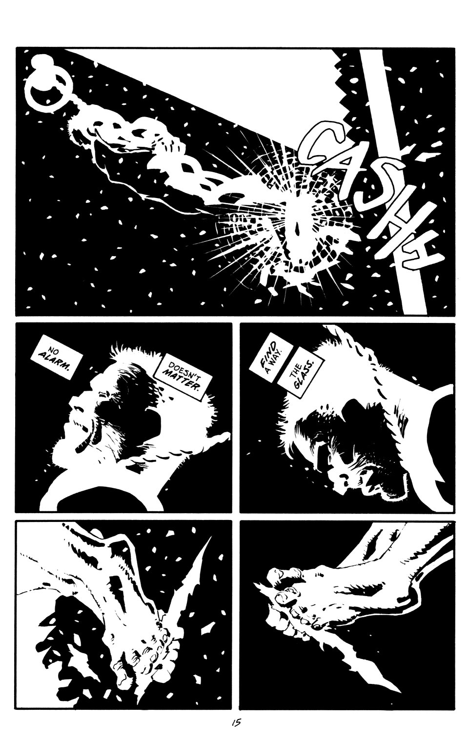 Read online Sin City: That Yellow Bastard comic -  Issue #6 - 15