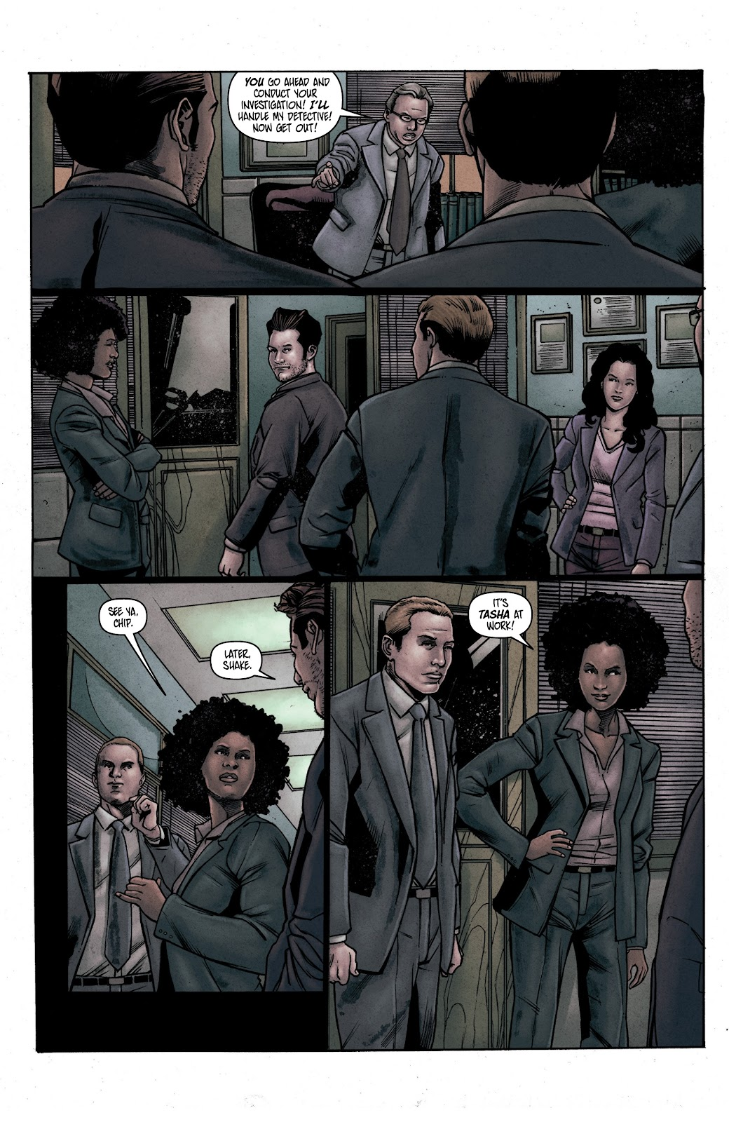 Read online Vindication comic -  Issue #1 - 20