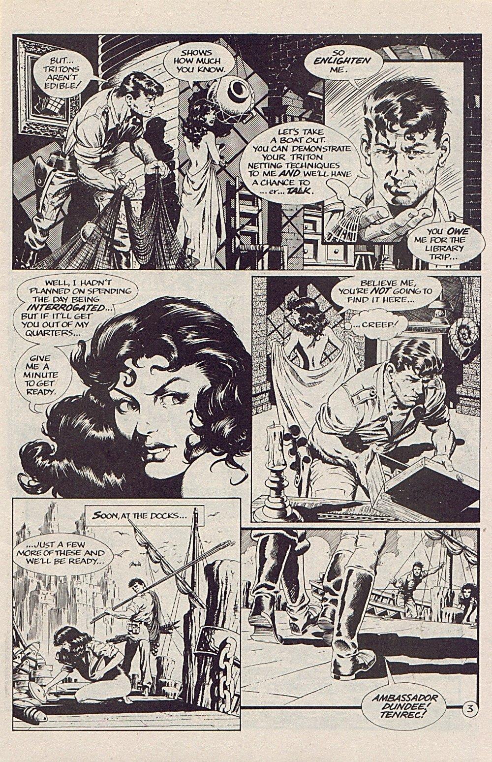 Read online Xenozoic Tales comic -  Issue #5 - 6