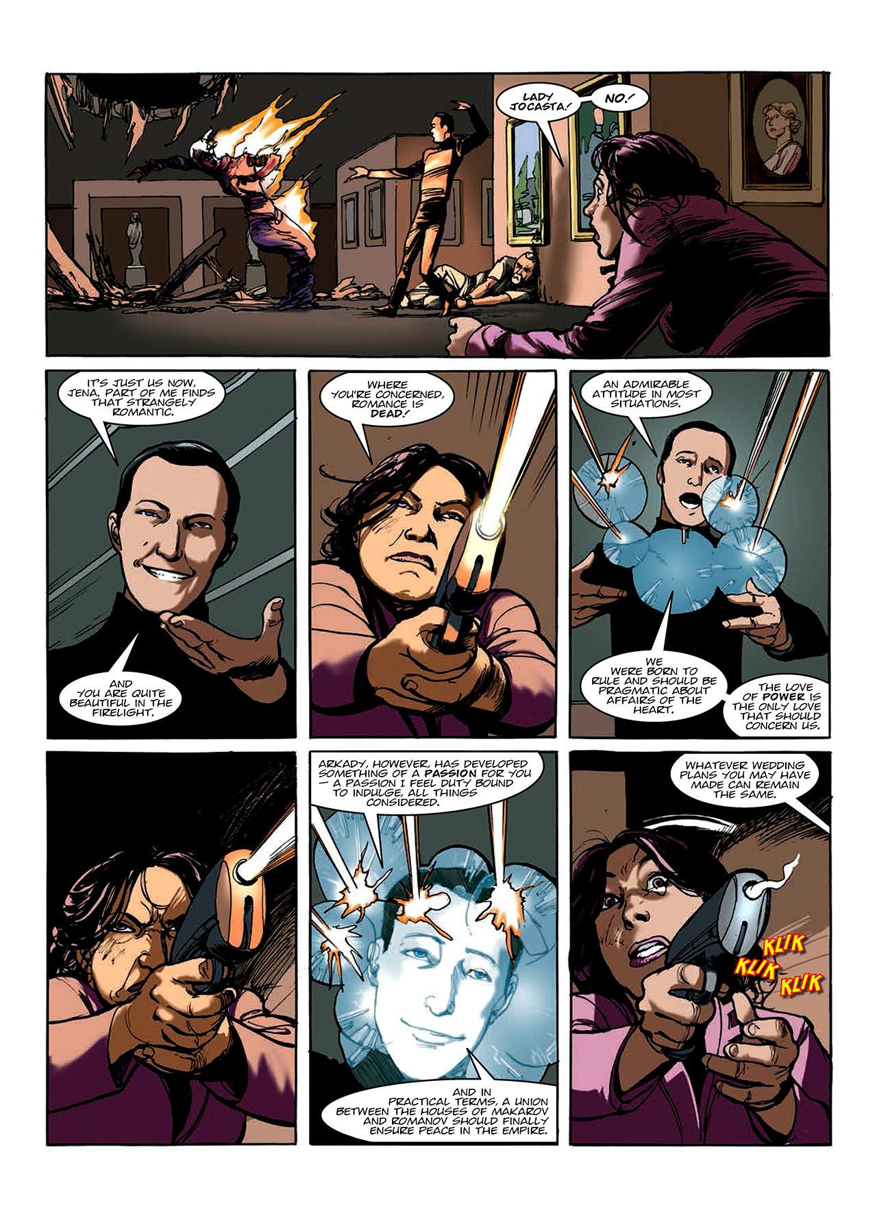 Read online Nikolai Dante comic -  Issue # TPB 10 - 109