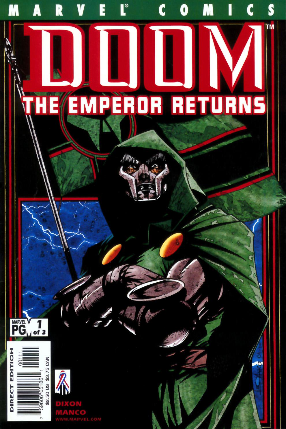 Read online Doom: The Emperor Returns comic -  Issue #2 - 1