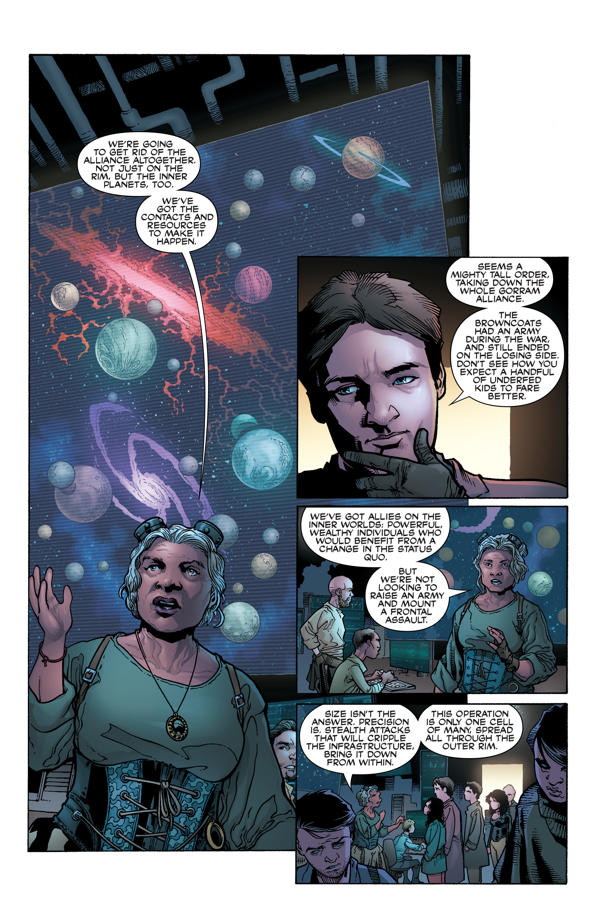 Read online Serenity: Firefly Class 03-K64 – No Power in the 'Verse comic -  Issue #2 - 9