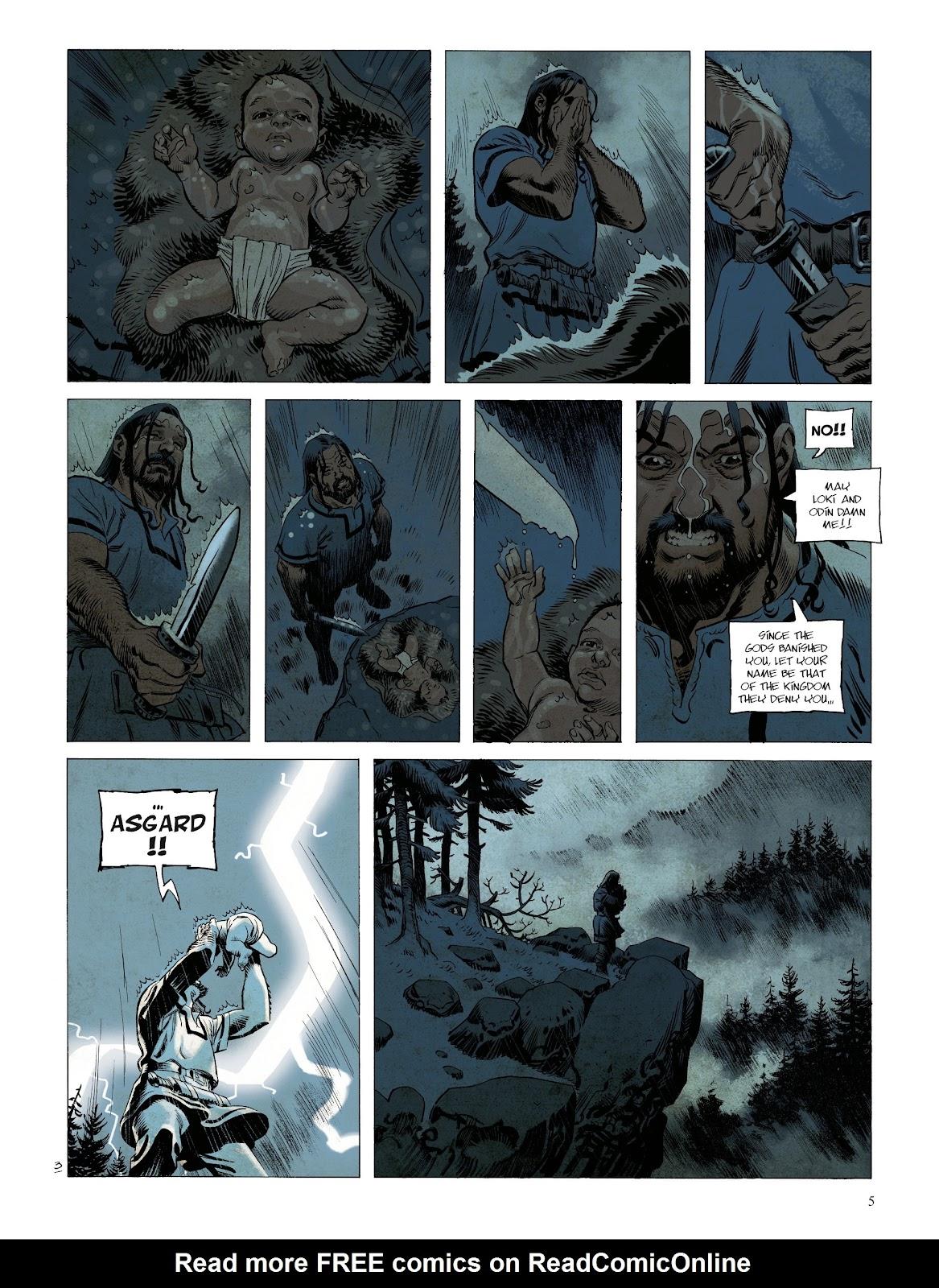 Read online Asgard comic -  Issue #1 - 7