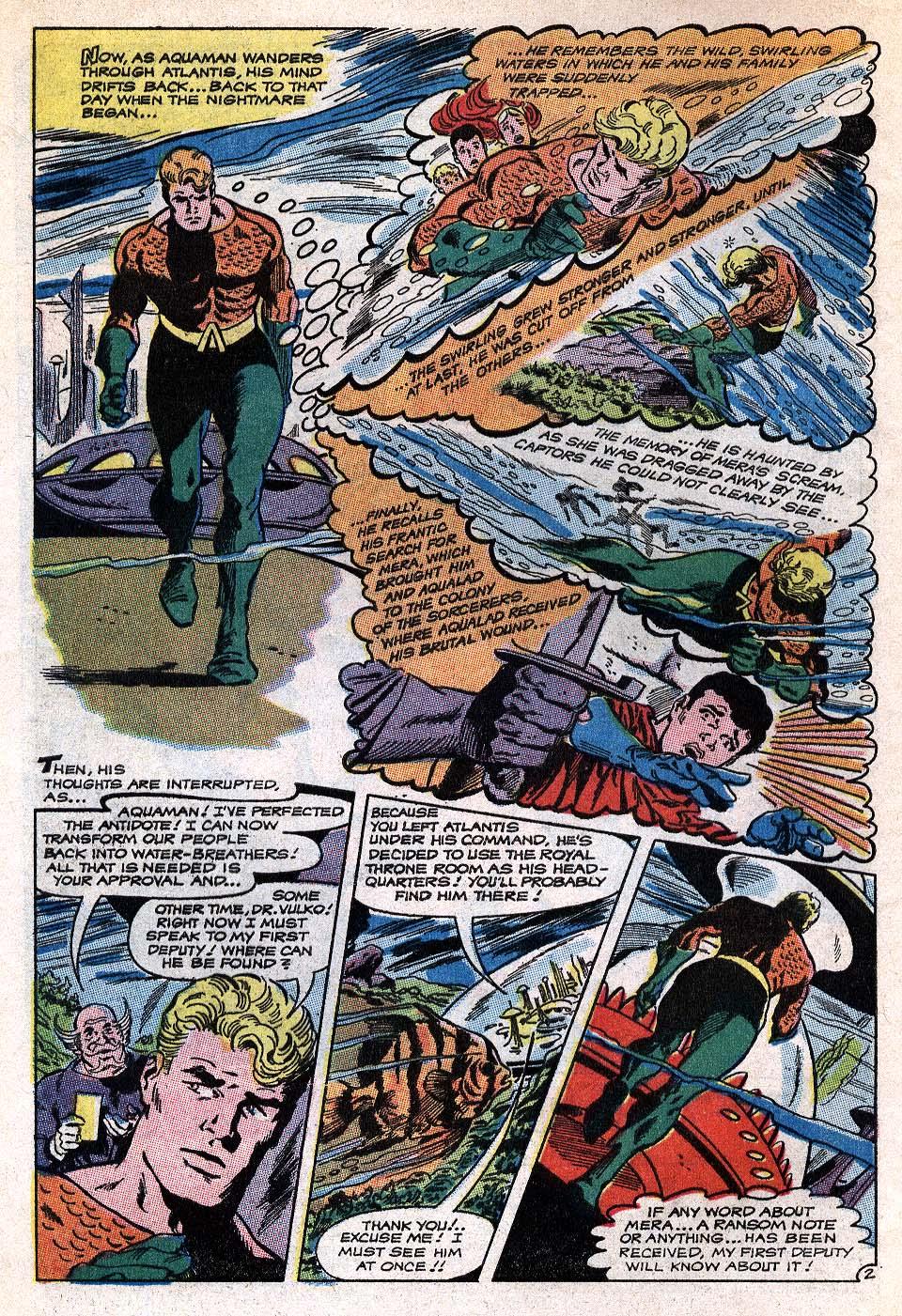 Read online Aquaman (1962) comic -  Issue #41 - 4