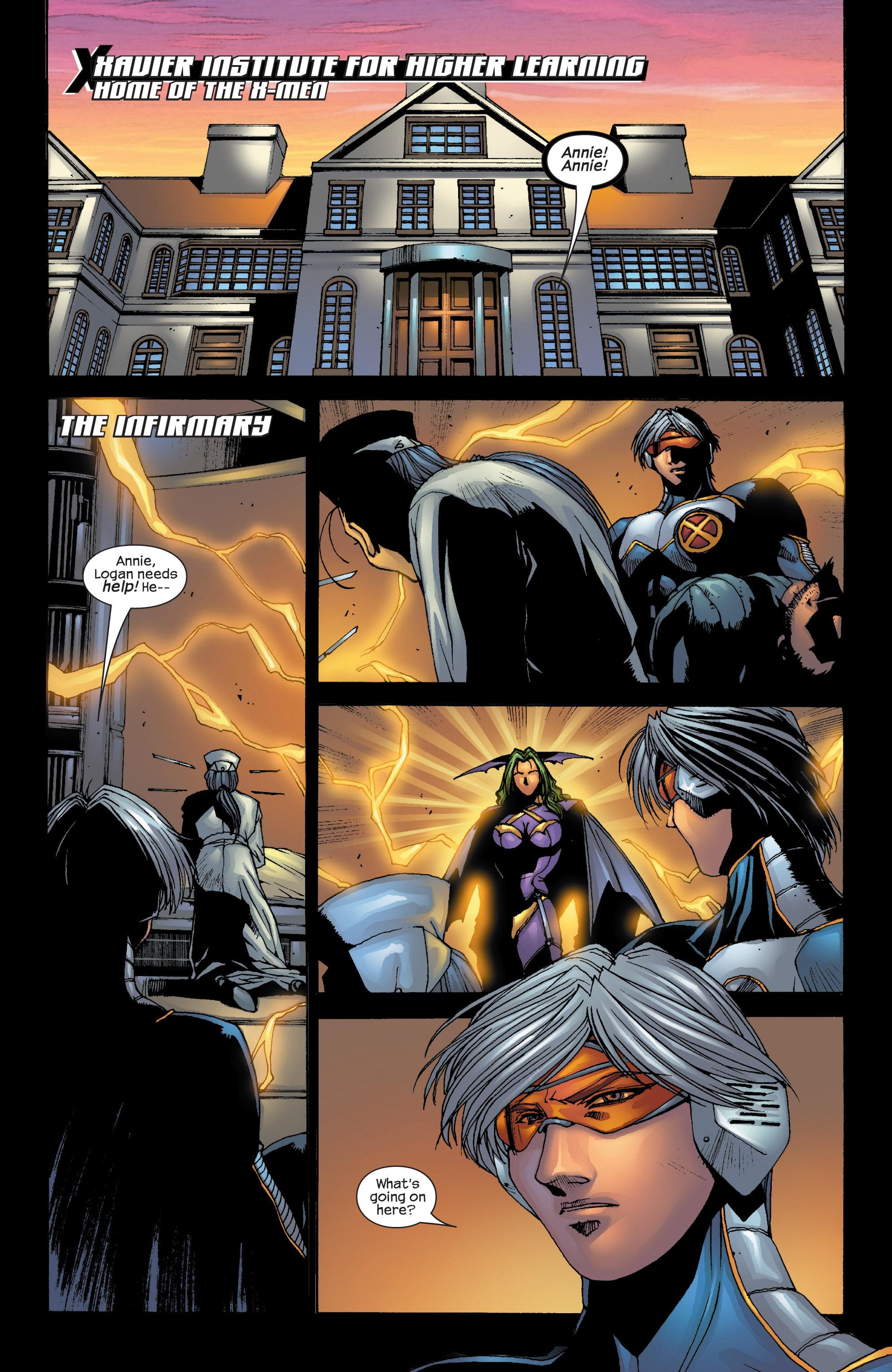 Read online Uncanny X-Men (1963) comic -  Issue #419 - 2