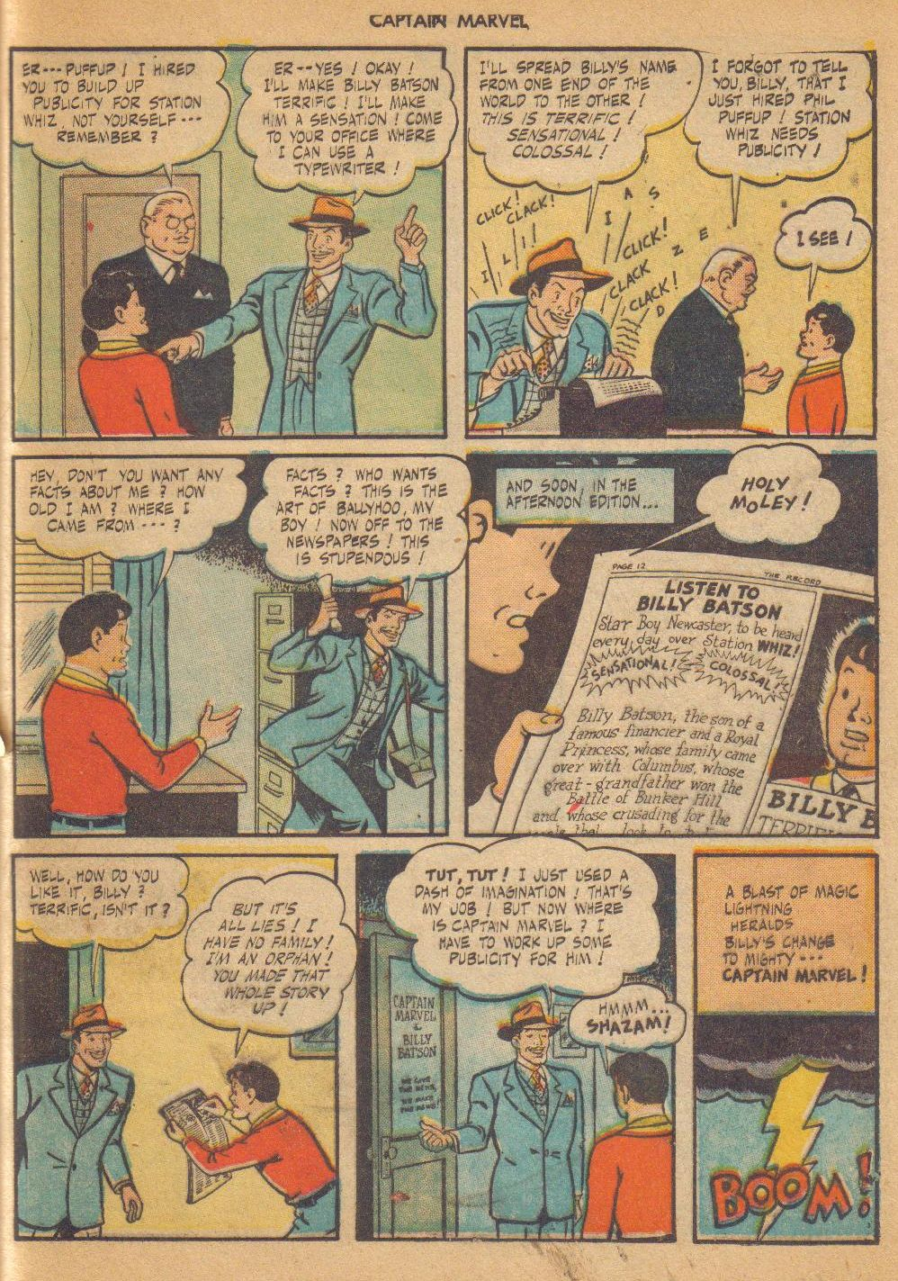 Captain Marvel Adventures issue 64 - Page 41