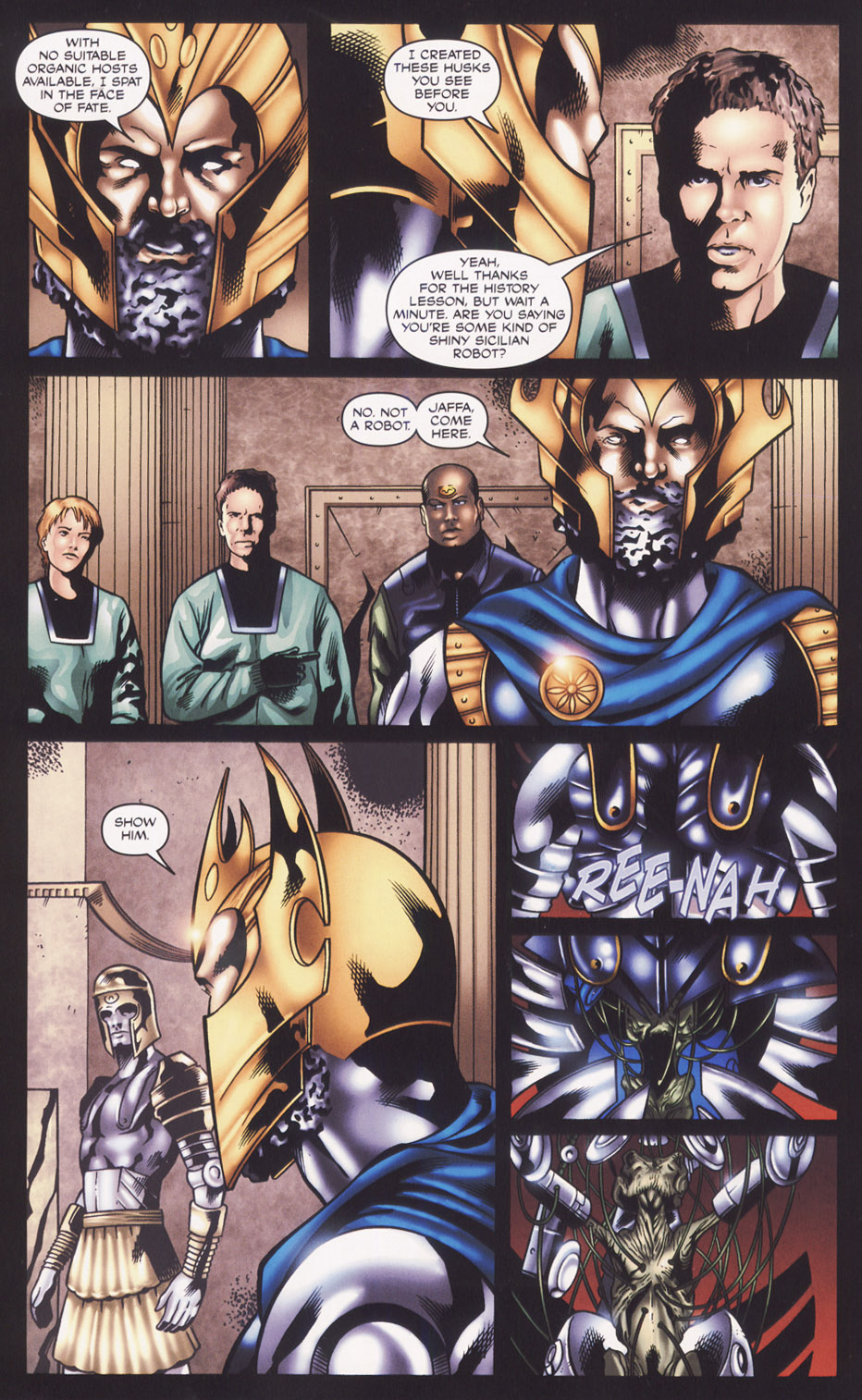 Read online Stargate SG-1: Fall of Rome comic -  Issue #2 - 14