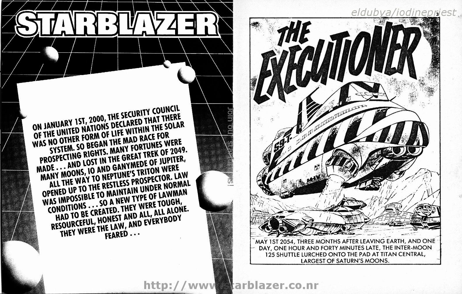Starblazer issue 165 - Page 3