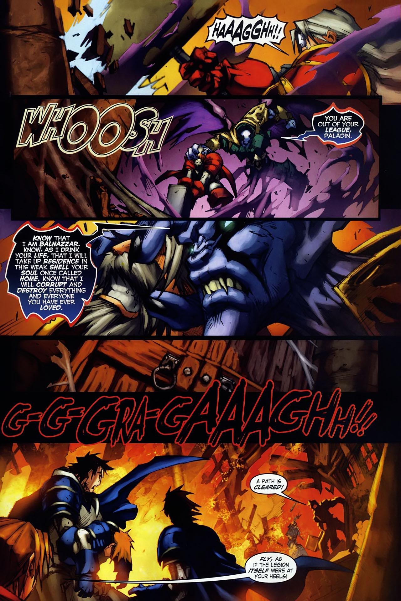 Read online World of Warcraft: Ashbringer comic -  Issue #1 - 23