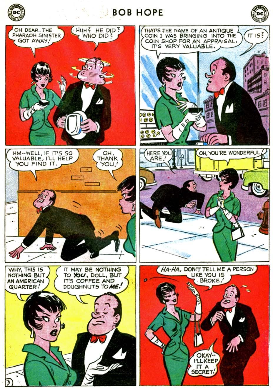 The Adventures of Bob Hope issue 71 - Page 5