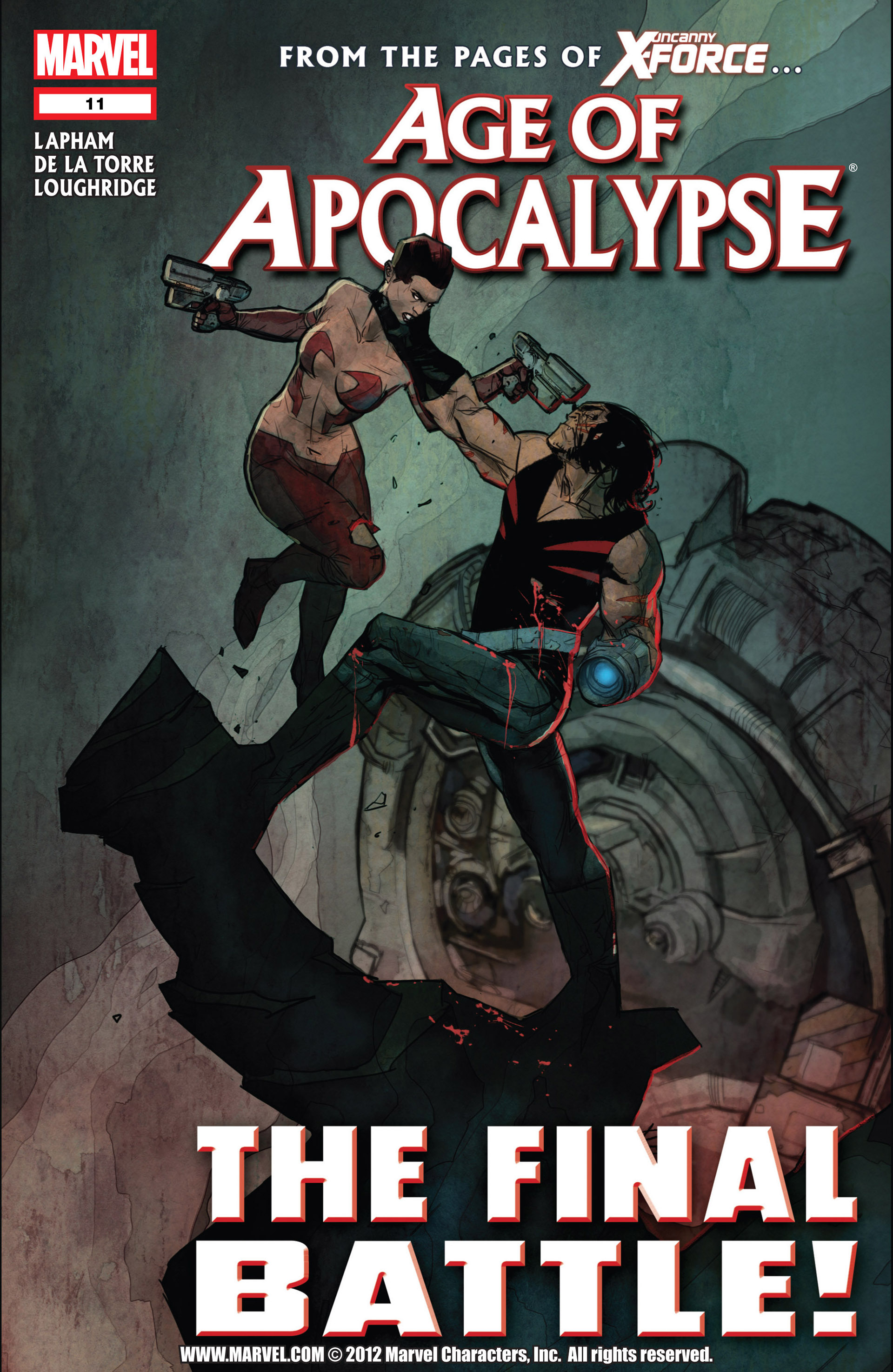 Read online Age of Apocalypse (2012) comic -  Issue #11 - 1