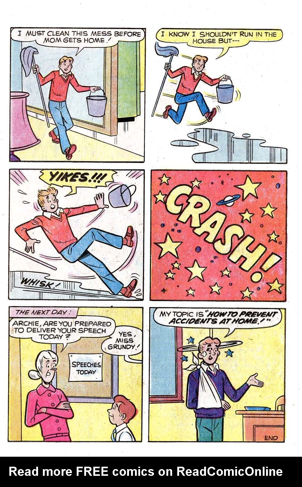Read online Archie (1960) comic -  Issue #255 - 33