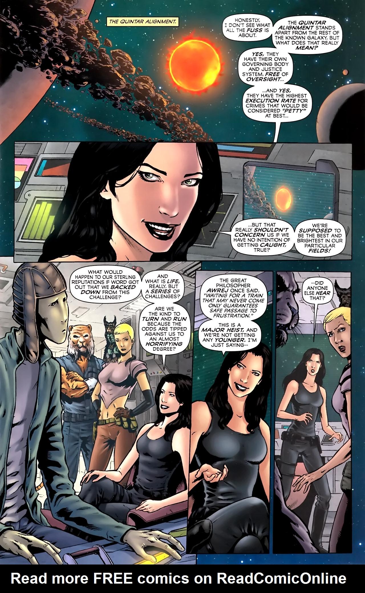 Read online Stargate Vala Mal Doran comic -  Issue #2 - 3