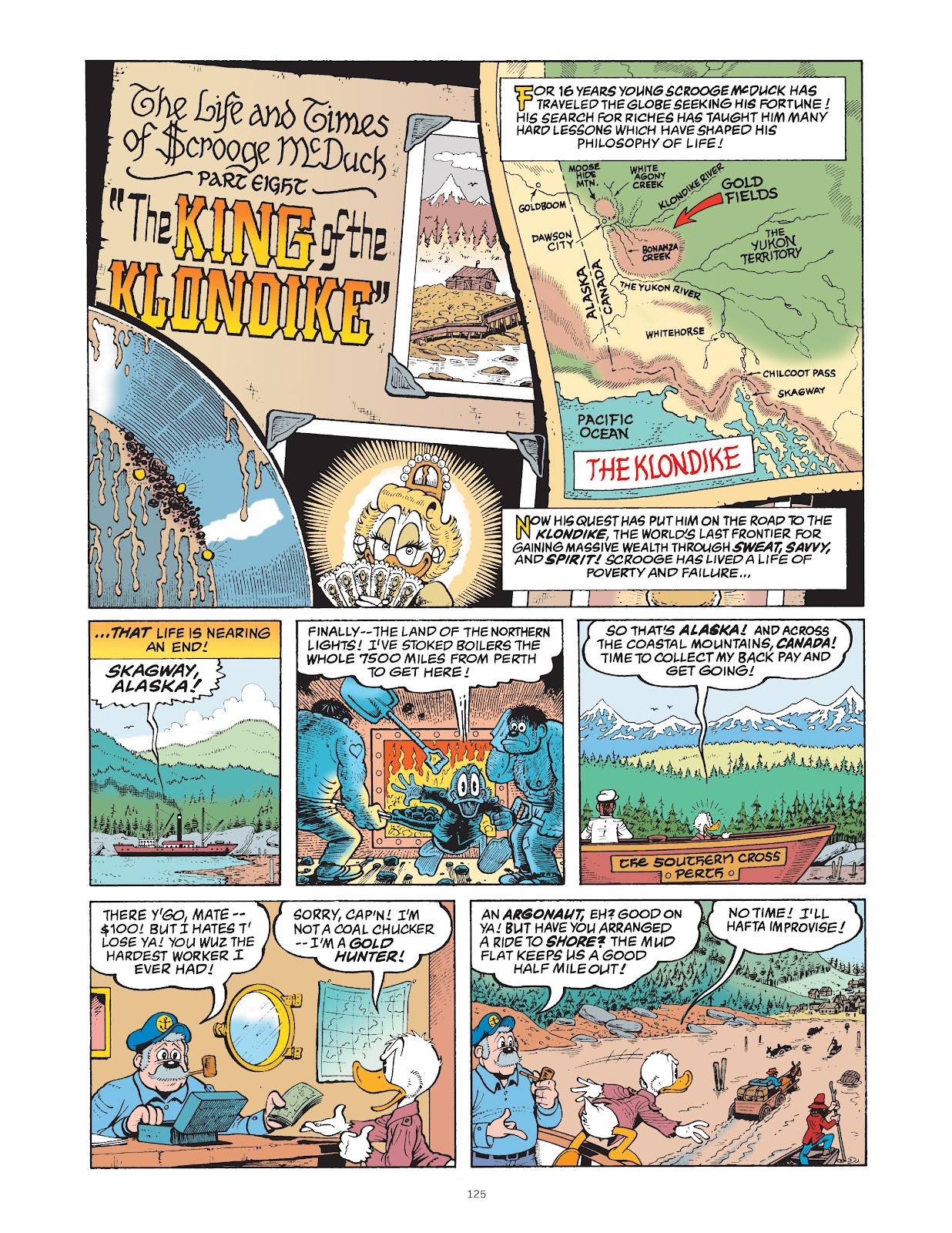 Read online The Complete Life and Times of Scrooge McDuck comic -  Issue # TPB 1 (Part 2) - 24