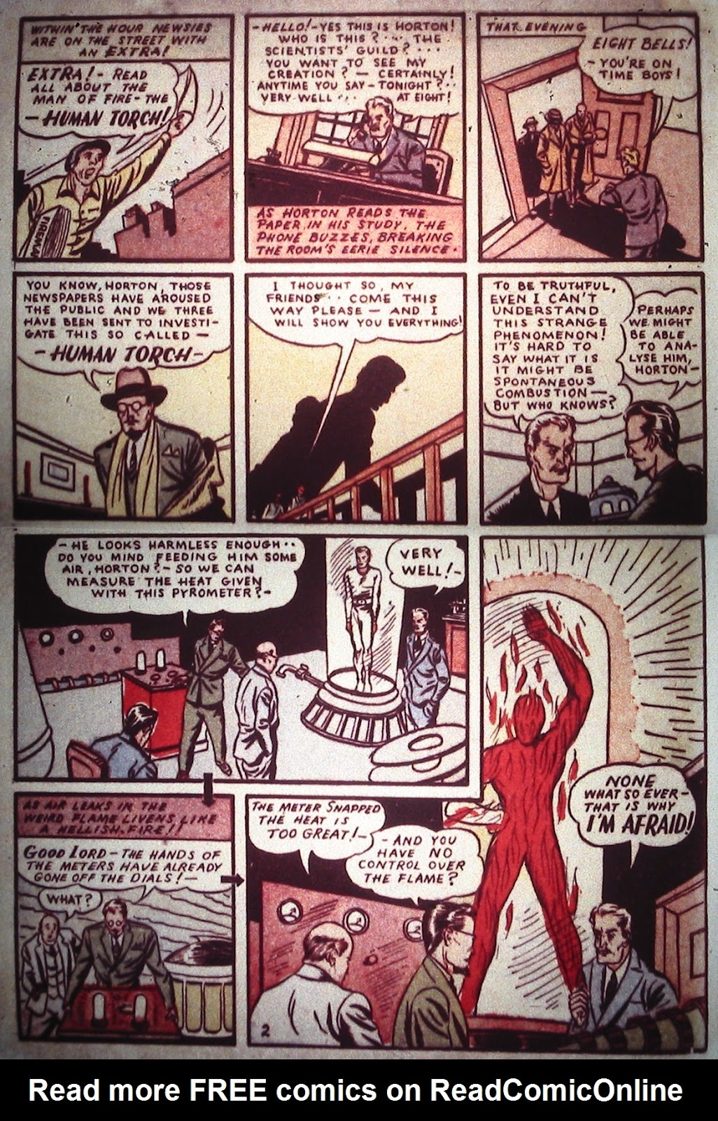 Marvel Comics (1939) issue Full - Page 4