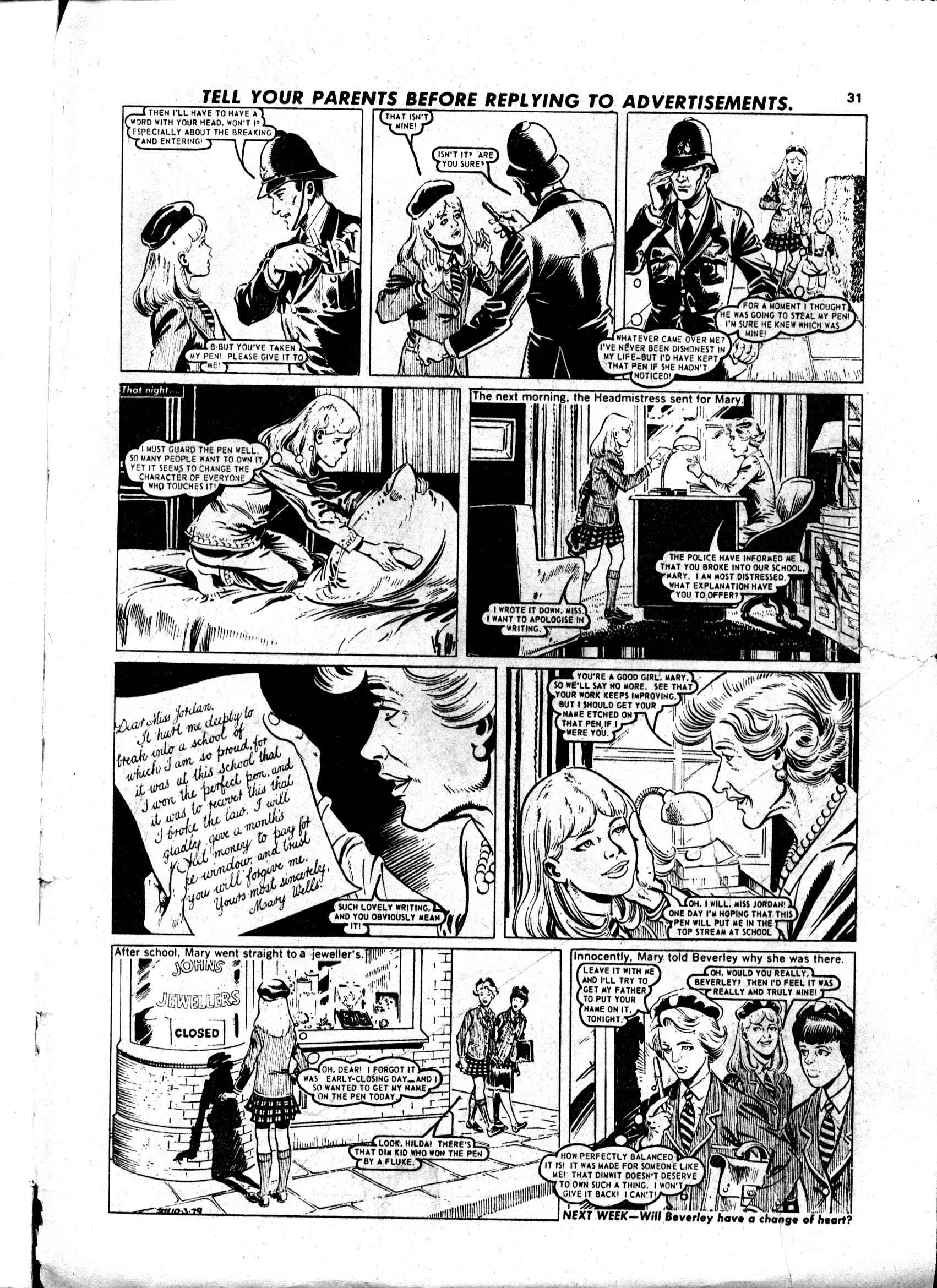 Read online Judy comic -  Issue #1000 - 31