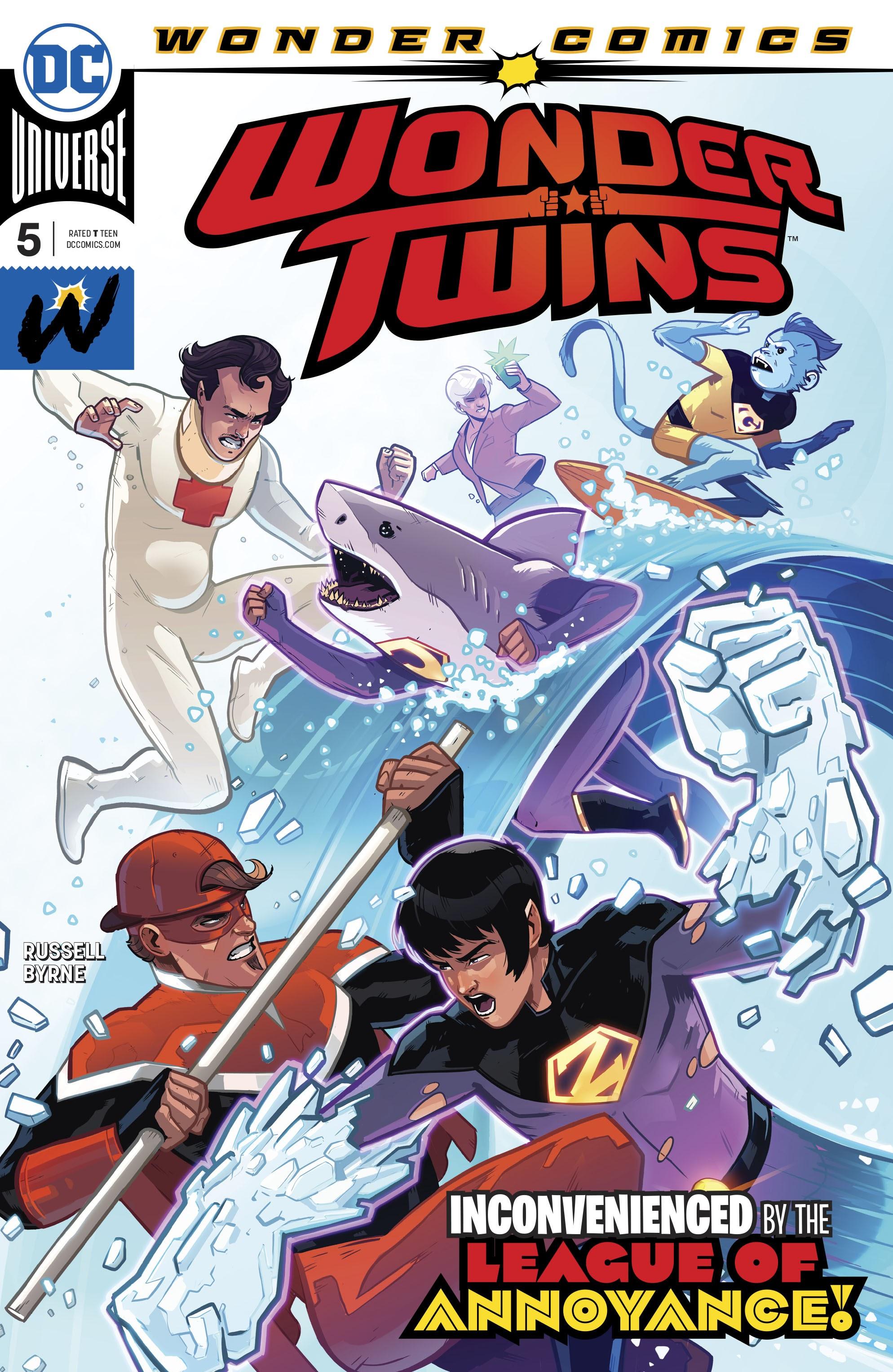 Wonder Twins 5 Page 1