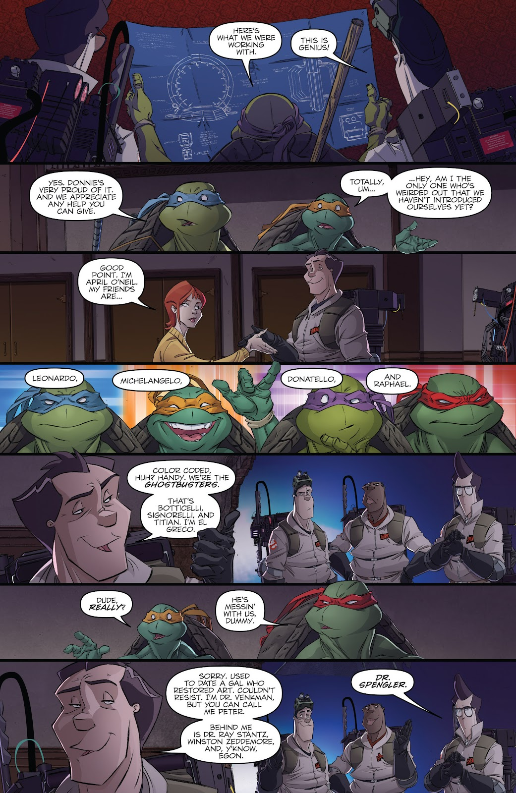 Read online Teenage Mutant Ninja Turtles: The IDW Collection comic -  Issue # TPB 5 (Part 3) - 1