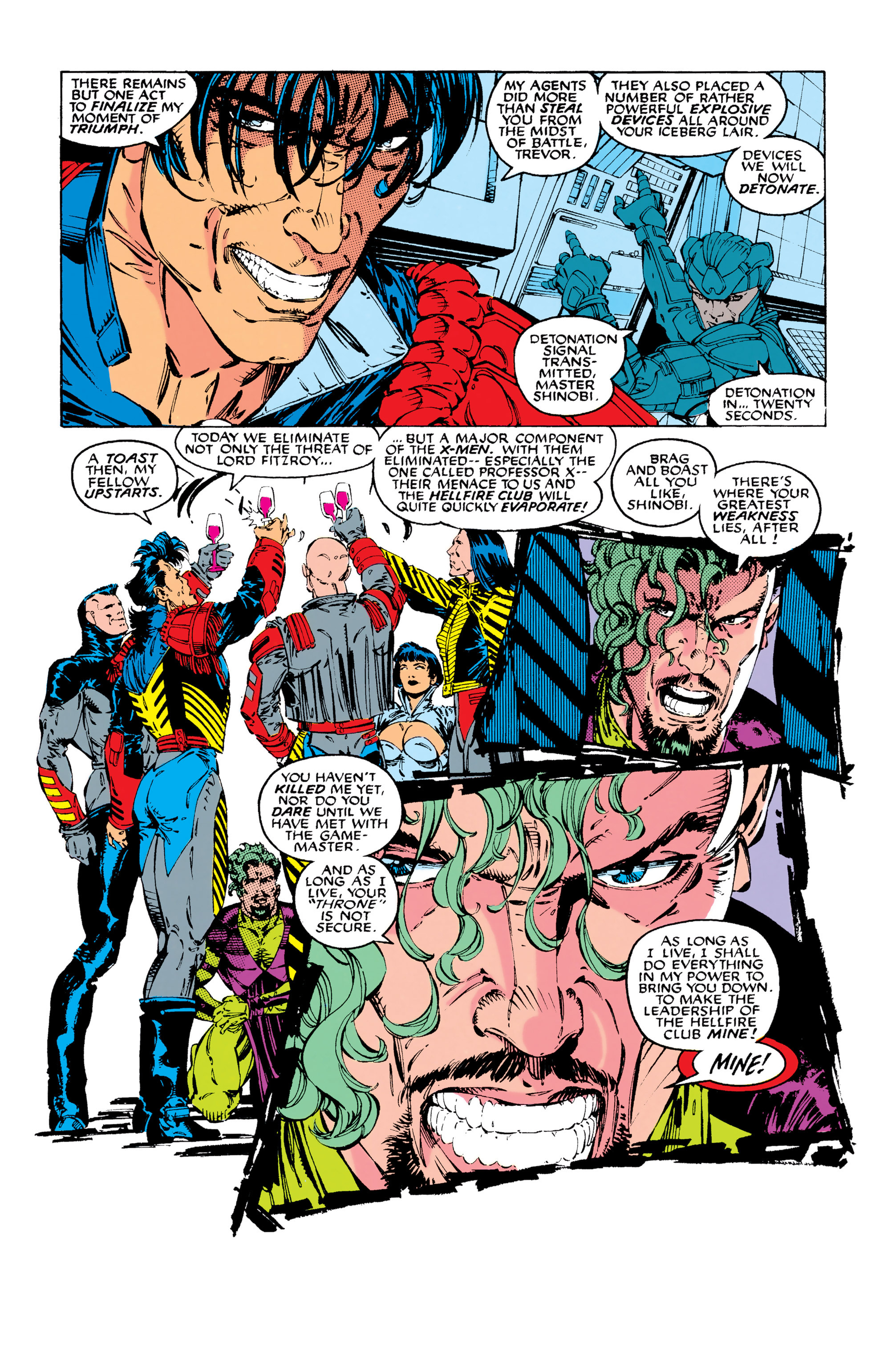 Read online Uncanny X-Men (1963) comic -  Issue #283 - 17